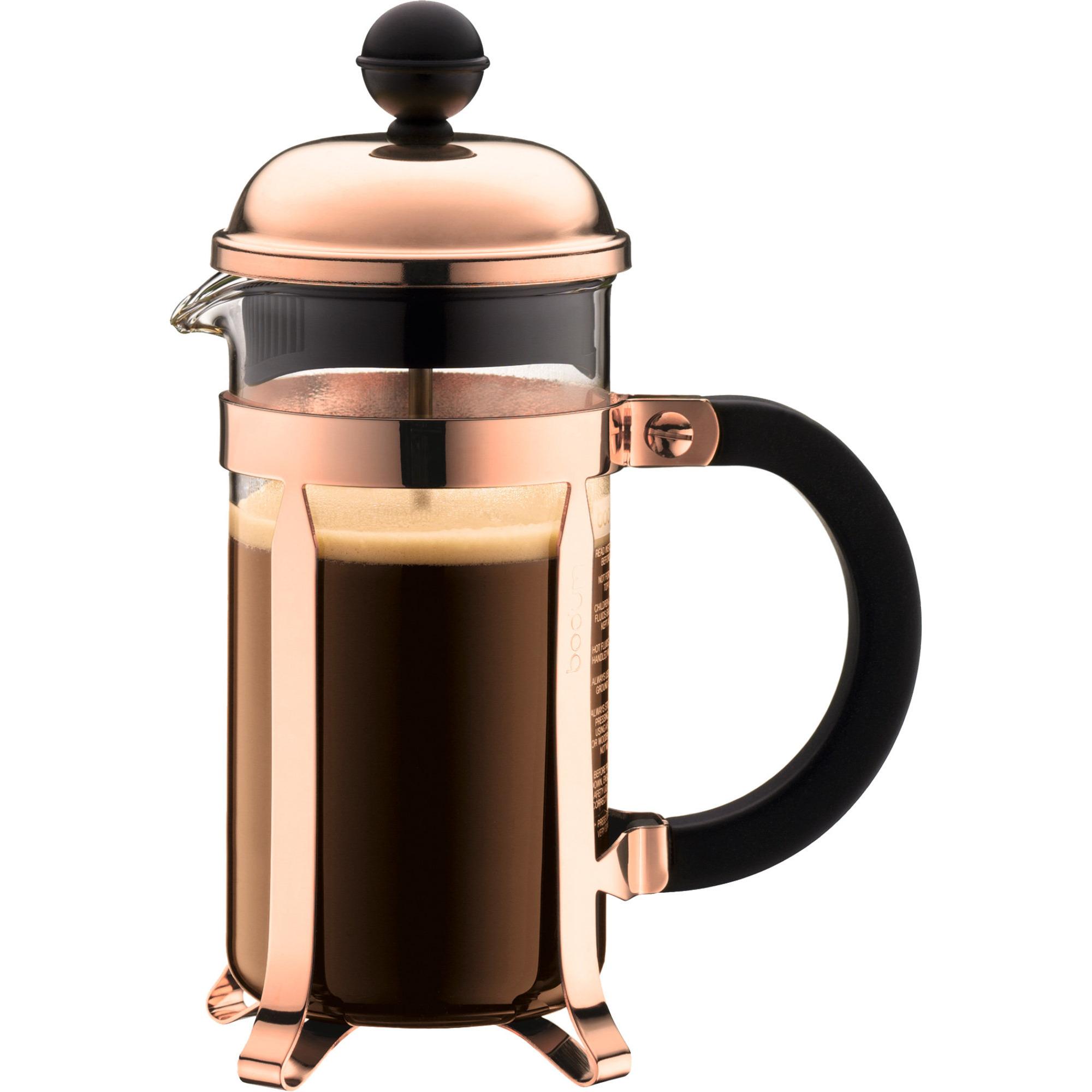 Bodum Chambord kaffepress 3 koppar 035 l Kopparfärgad