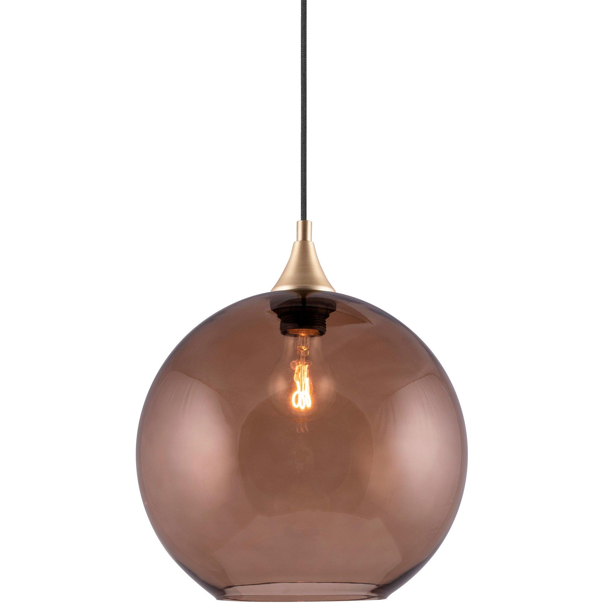 Globen Lighting Bowl Pendel brun