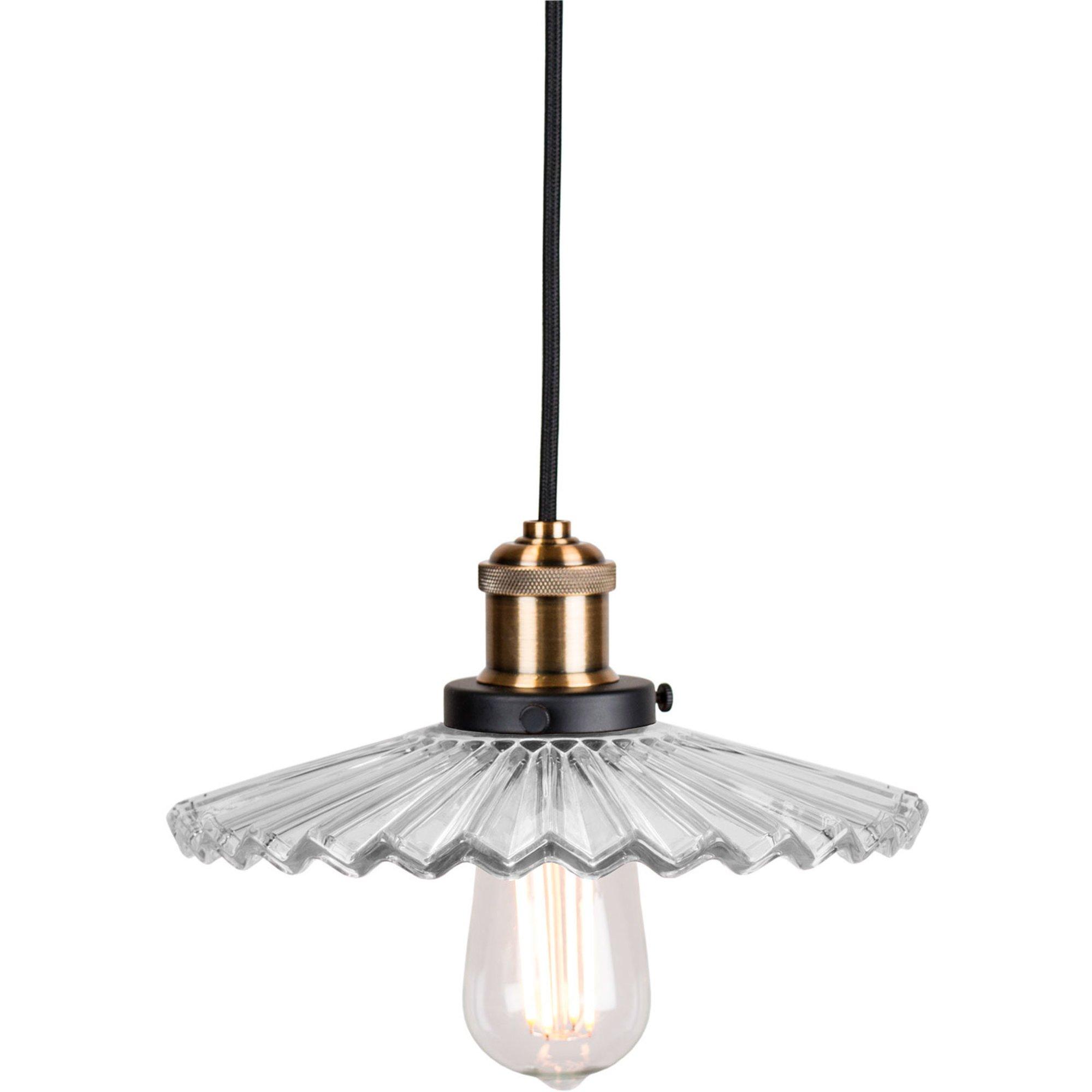 Globen Lighting Cobbler Pendel 25 cm klar