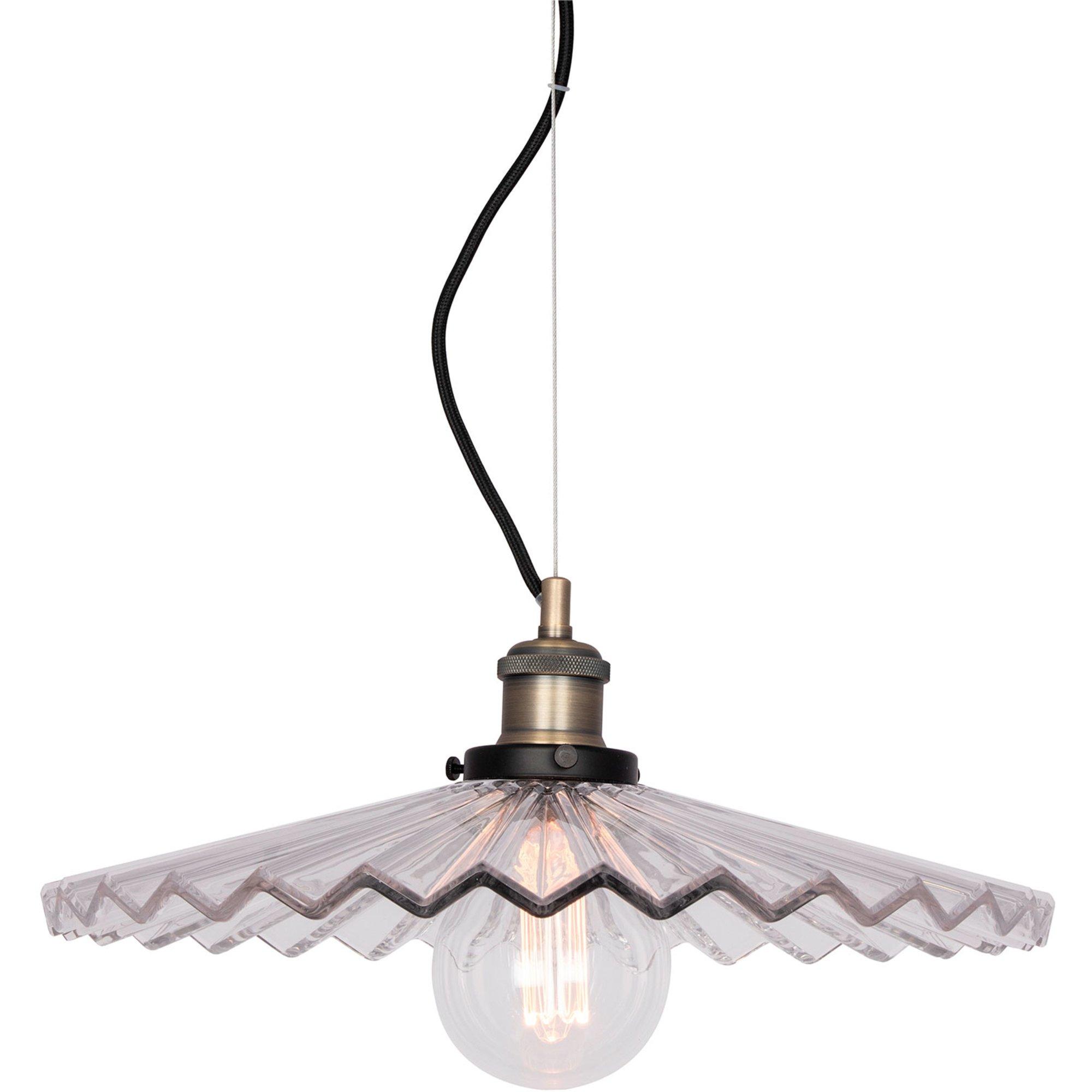 Globen Lighting Cobbler Pendel 40 cm klar