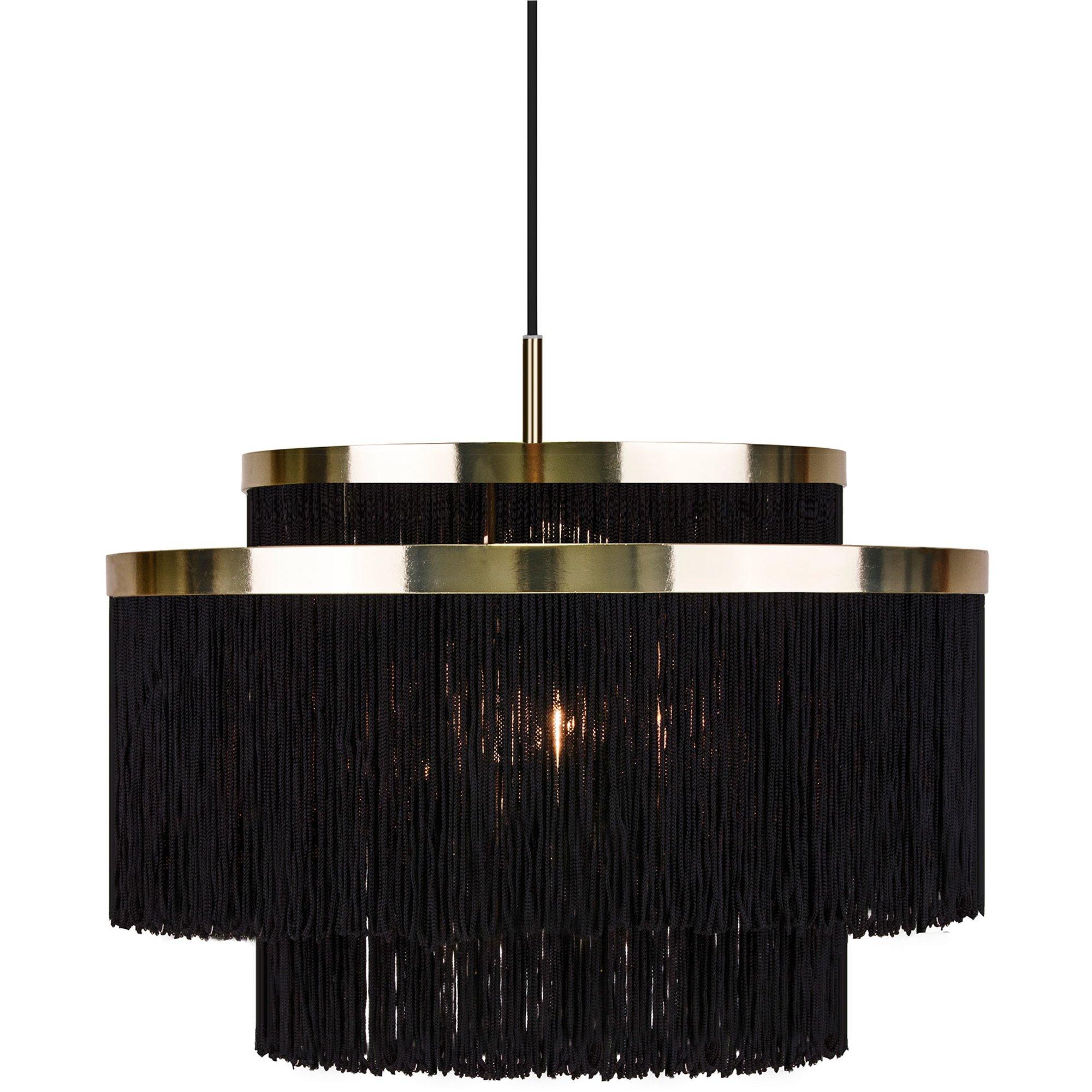 Globen Lighting Frans Pendel svart
