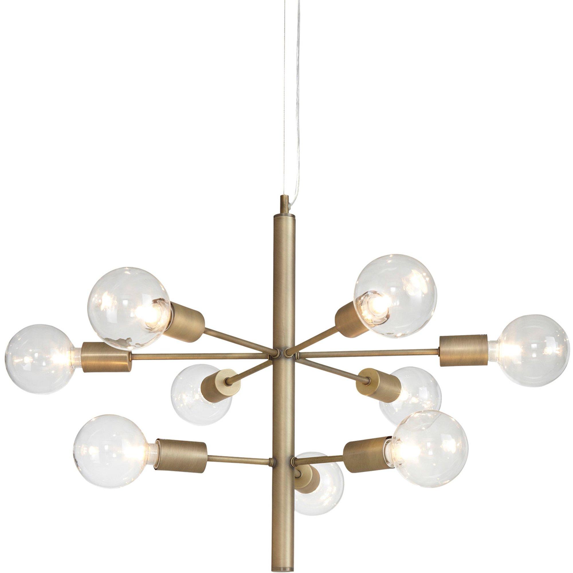 Globen Lighting Galaxy Pendel antik mässing