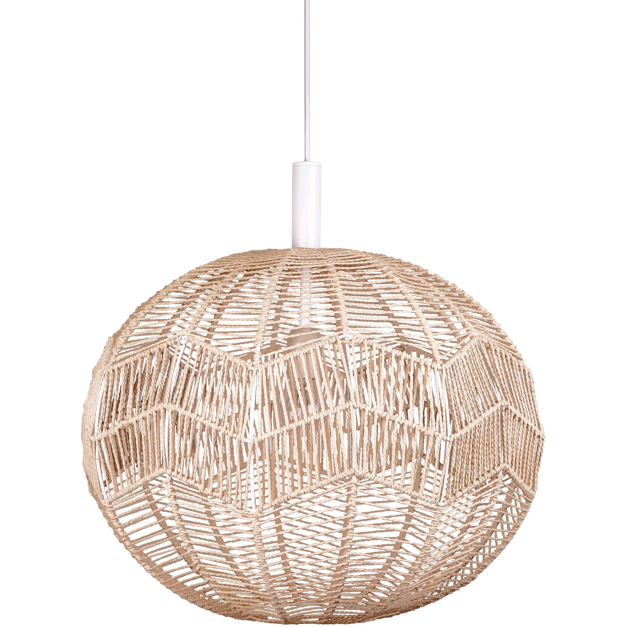 Globen Lighting Missy Pendel natur/vit