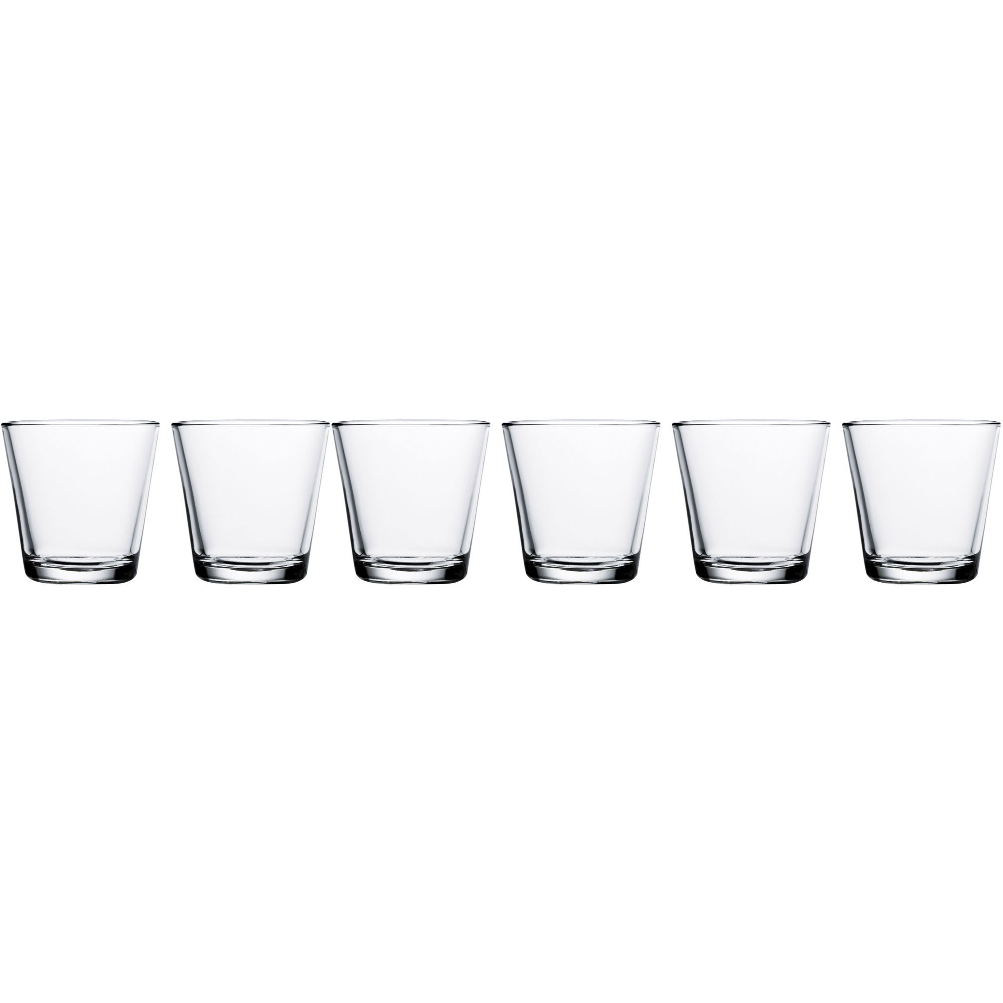 Iittala Kartio Drickglas 21 cl. 6 st. genomskinliga