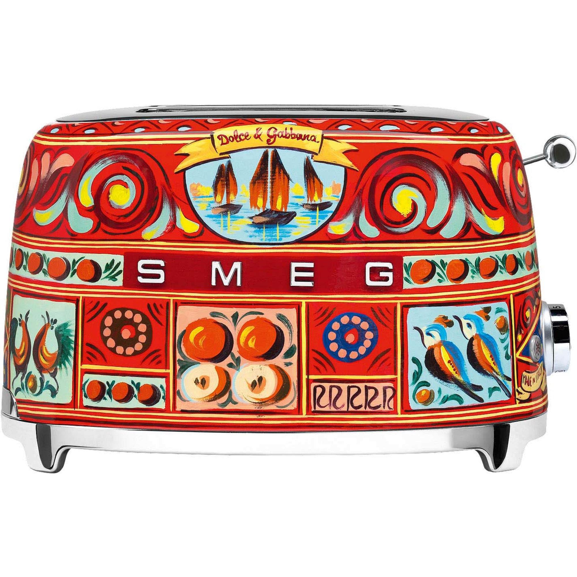 Smeg Brödrost 2 Skivor Dolce & Gabbana