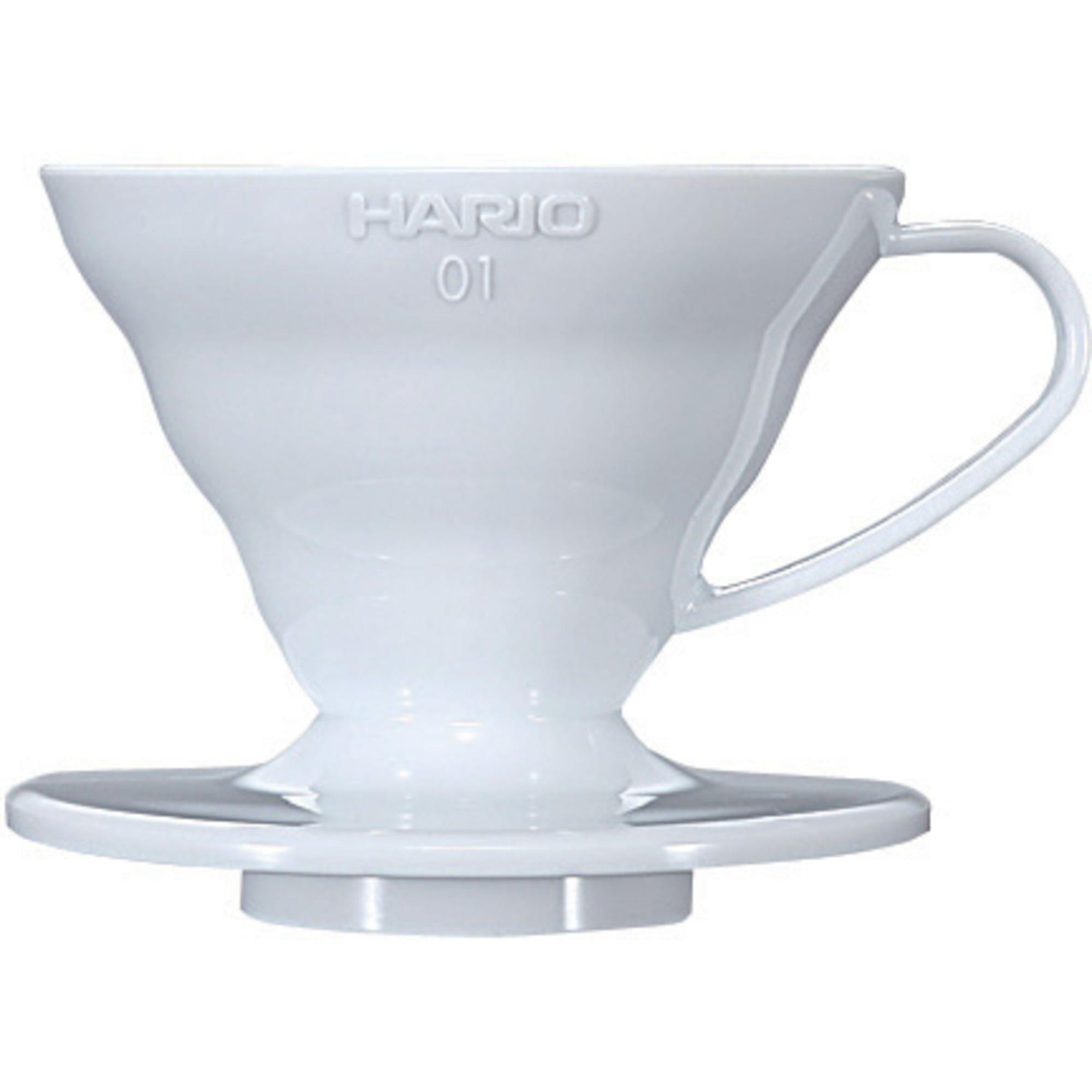 Hario 1 Cup Dripper V60 Vit keramik