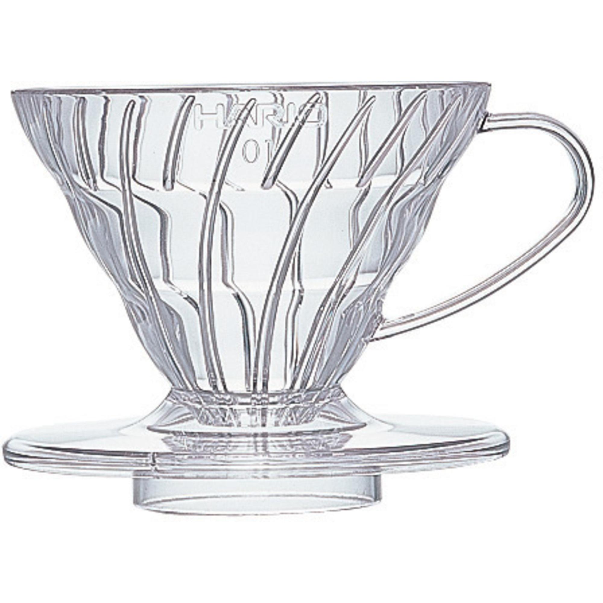 Hario 1 Cup Dripper V60 klar plast