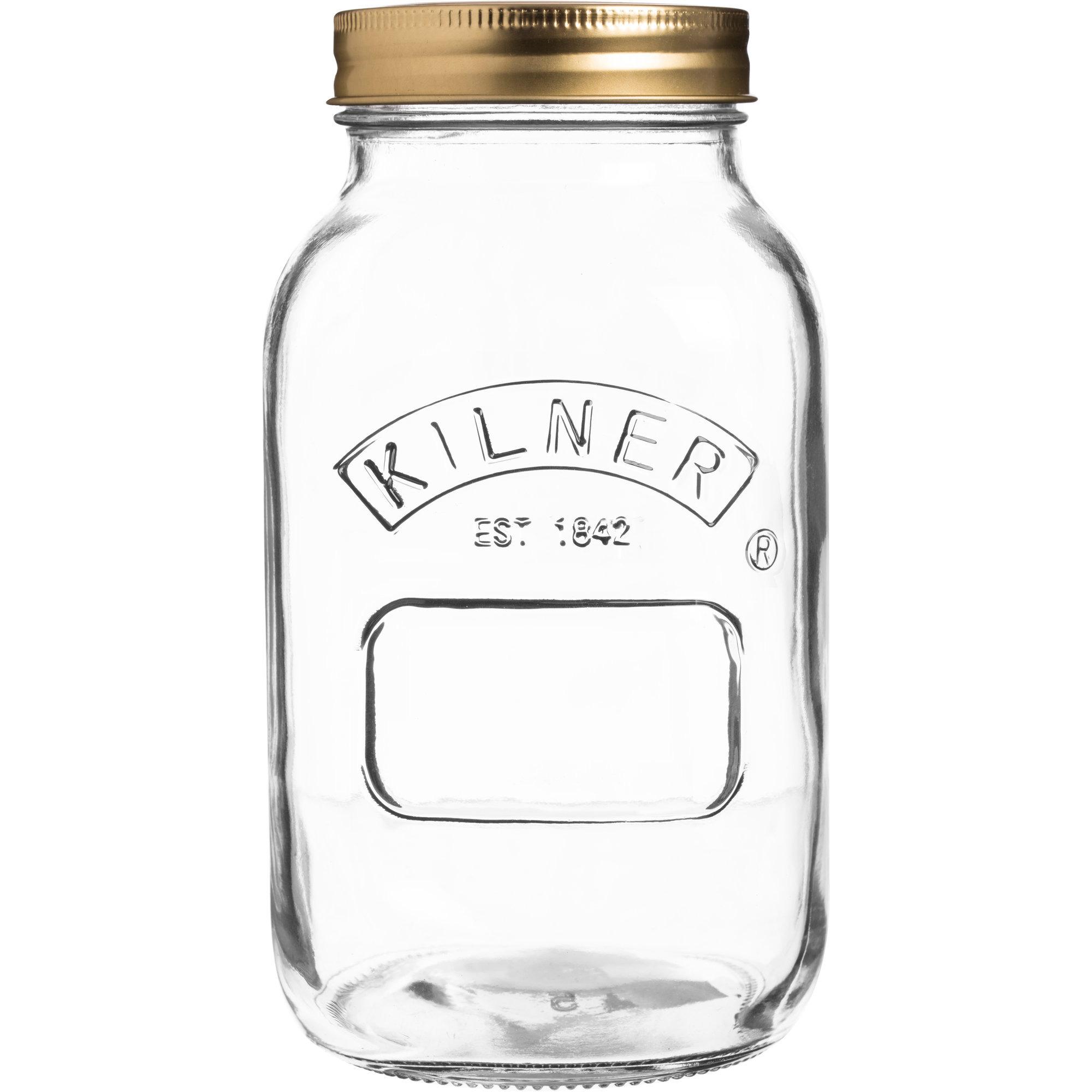 Kilner Konserveringsburk 1 Liter Rund