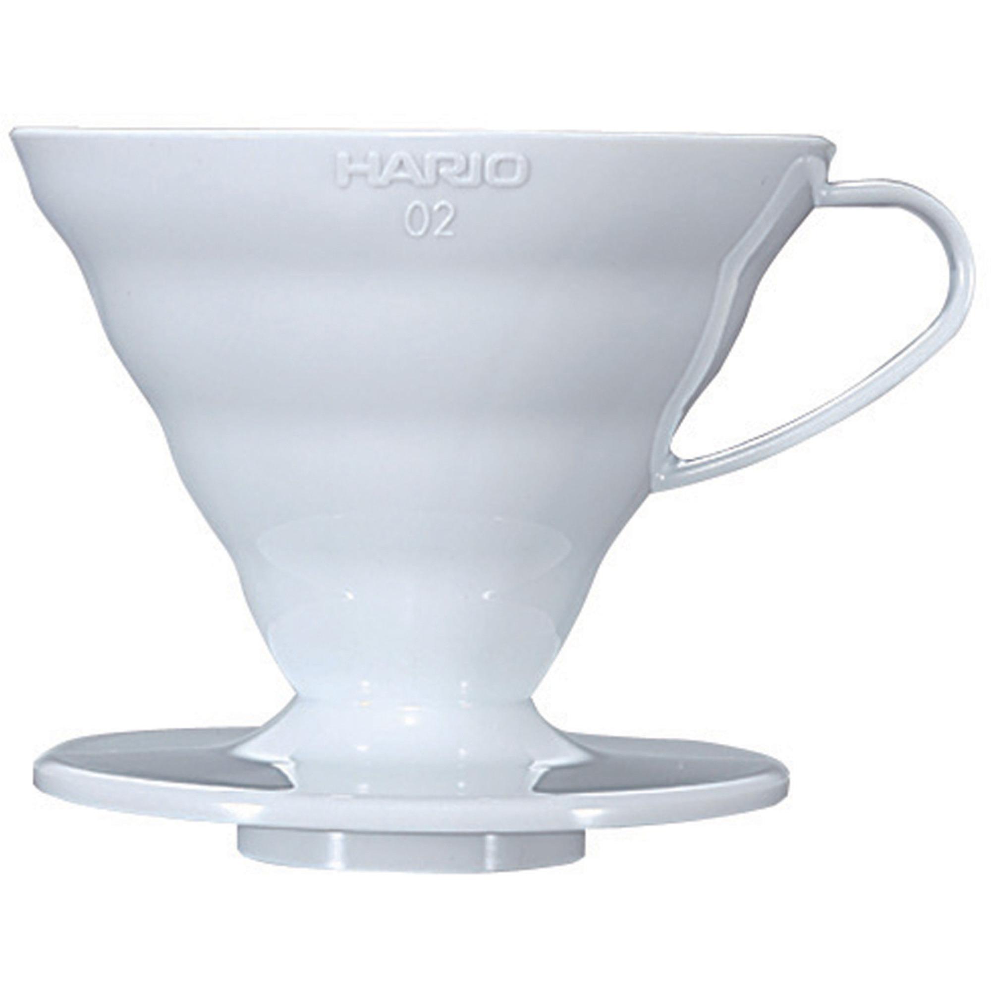 Hario 2 Cup Dripper V60 Vit keramik