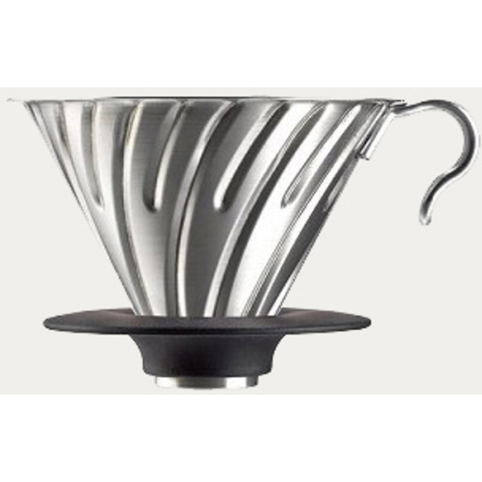 Hario 2 Cup Dripper V60 stål