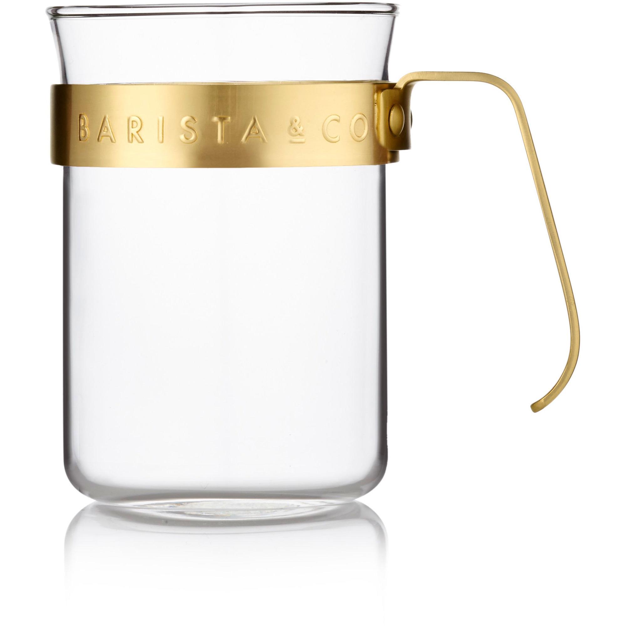 Barista & Co. 2 st. koppar med guldring