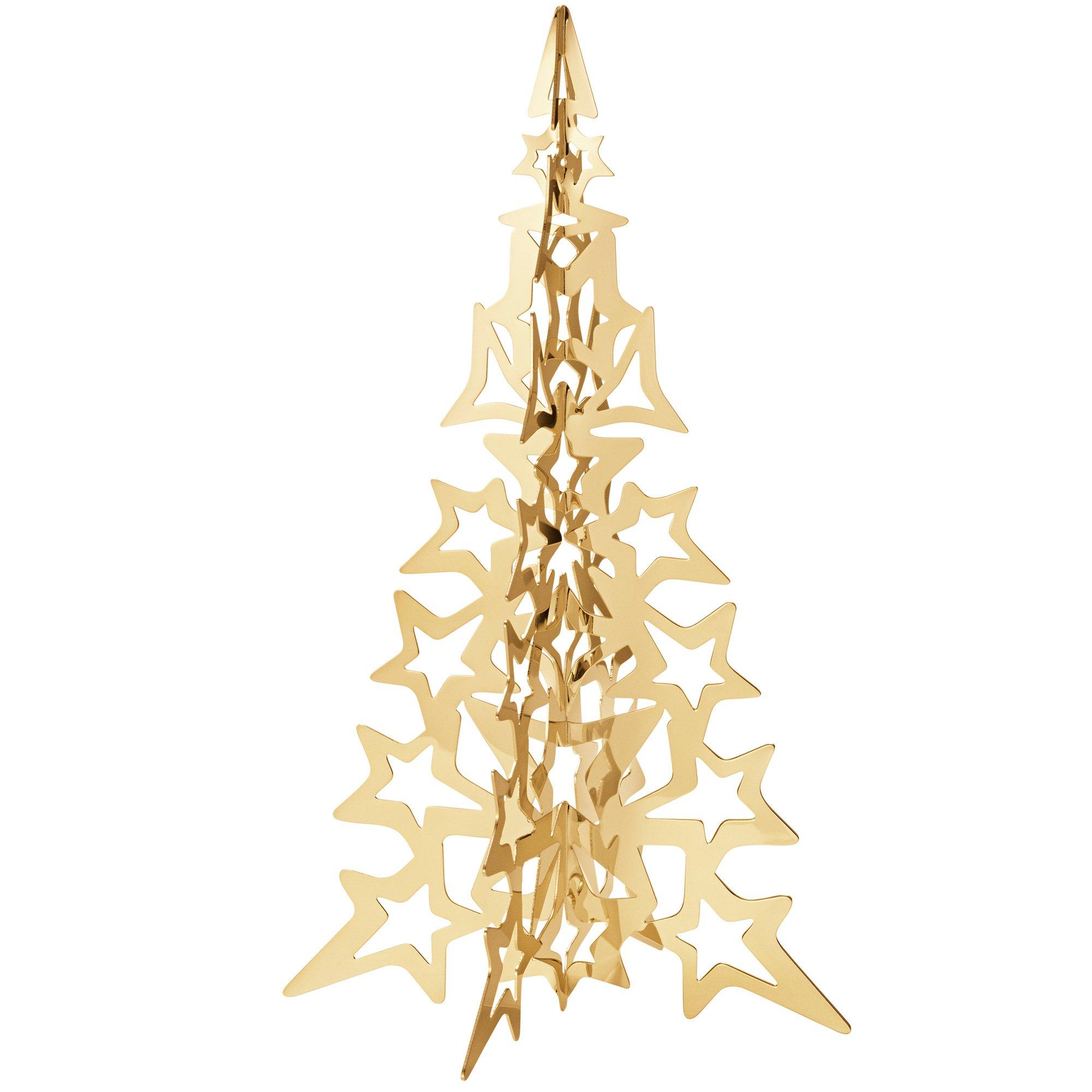 Billede af 2021 guld juletræ, stor