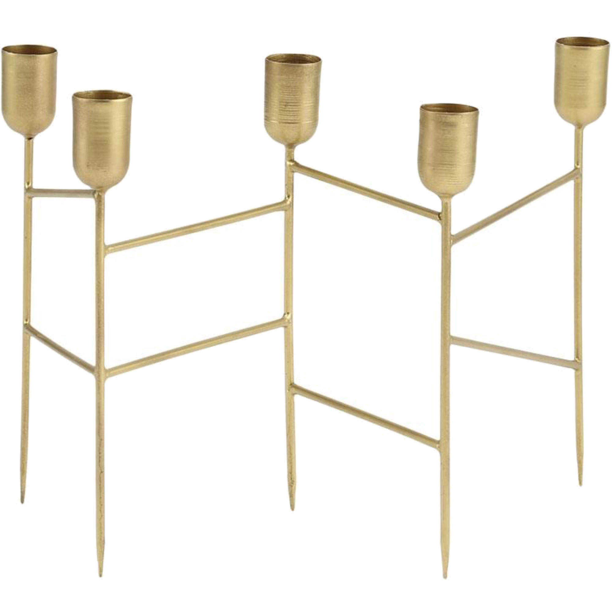 A Simple Mess Ljusstake Spids 22x12,5x19,5 cm Mässing