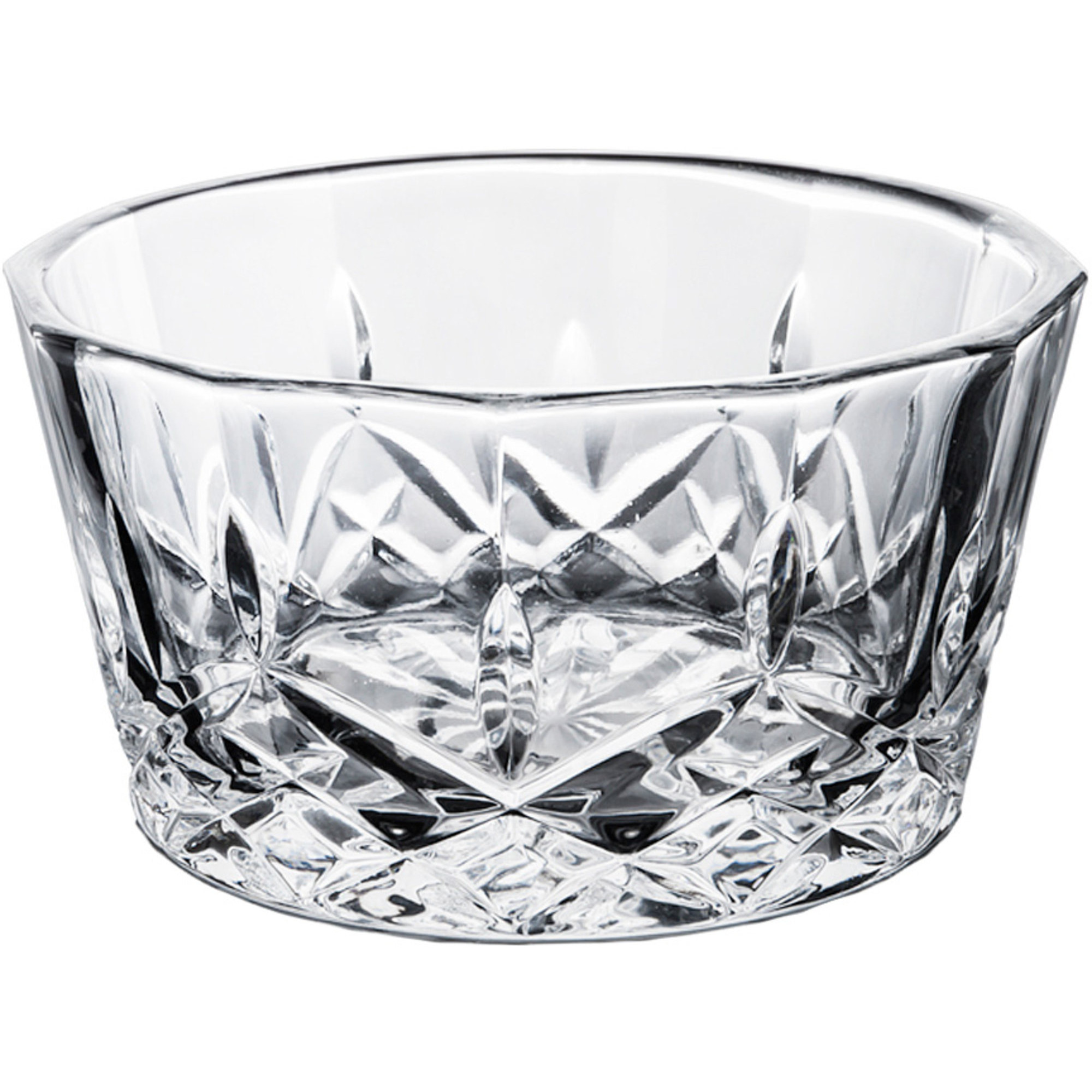 Aida Harvey Snacksskål Glas 11,5 cm Klar 4 st