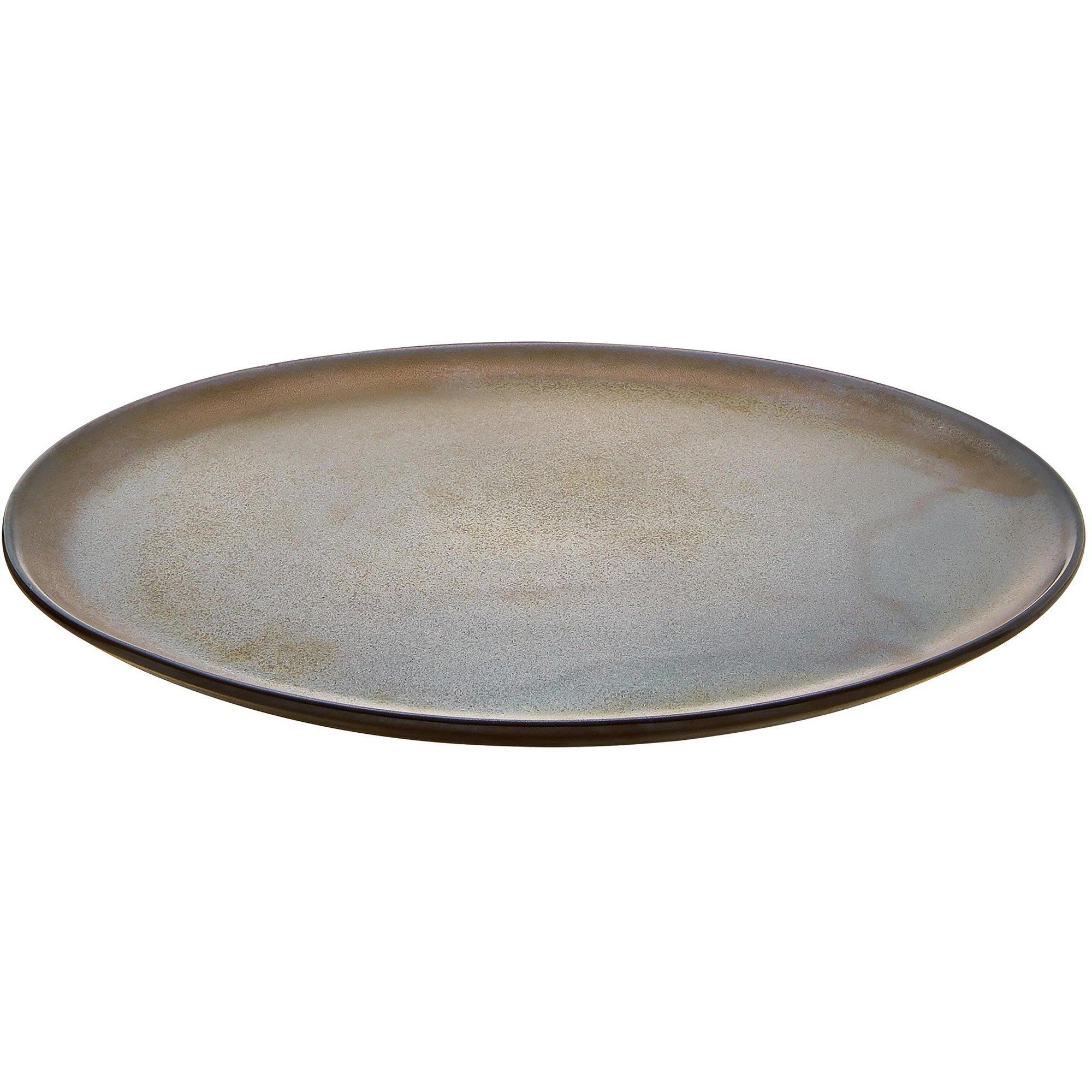 Aida RAW desserttallrik metallisk brun
