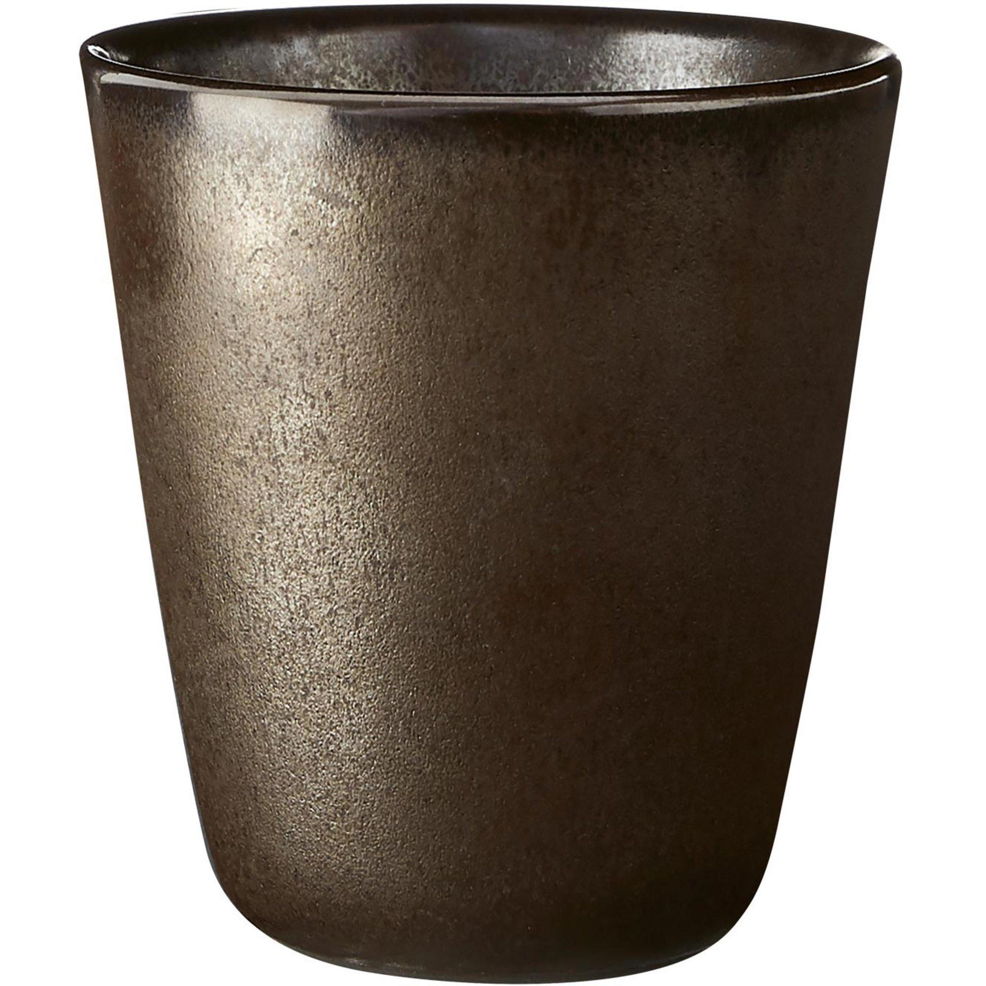 Aida RAW mugg metallisk brun 25 cl.
