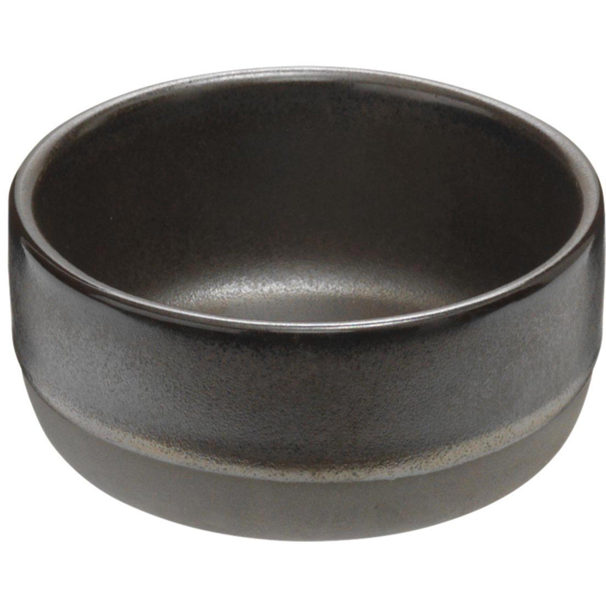 Aida RAW liten skål metallisk brun 9,5x4,5 cm.