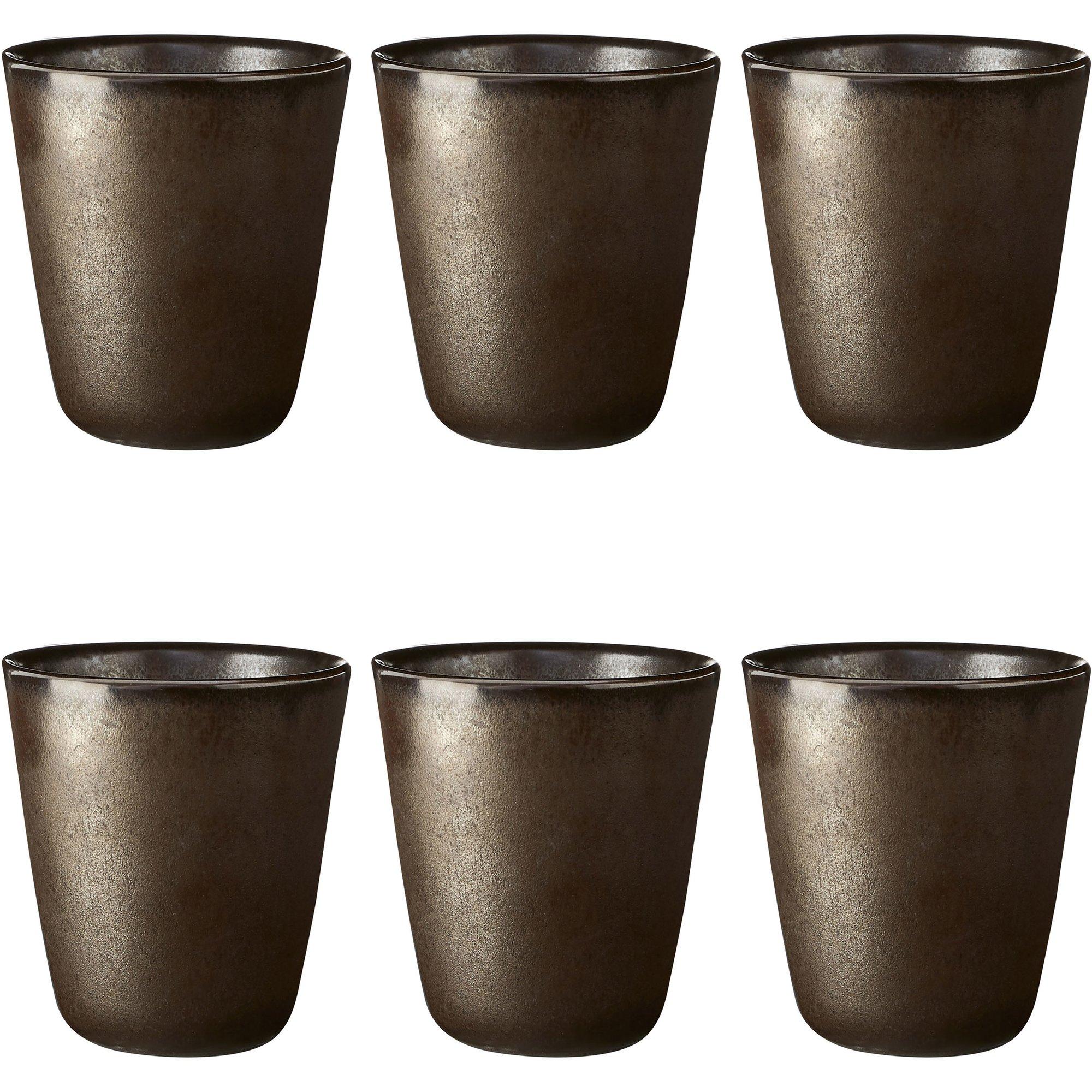 Aida RAW Termomugg 6 st. Metallic Brown