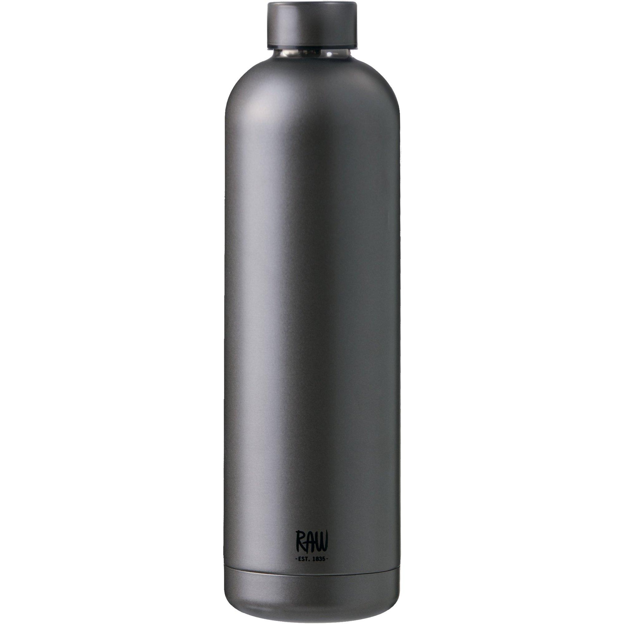 Aida RAW Termosflaska 1 liter Metallic Dark Grey