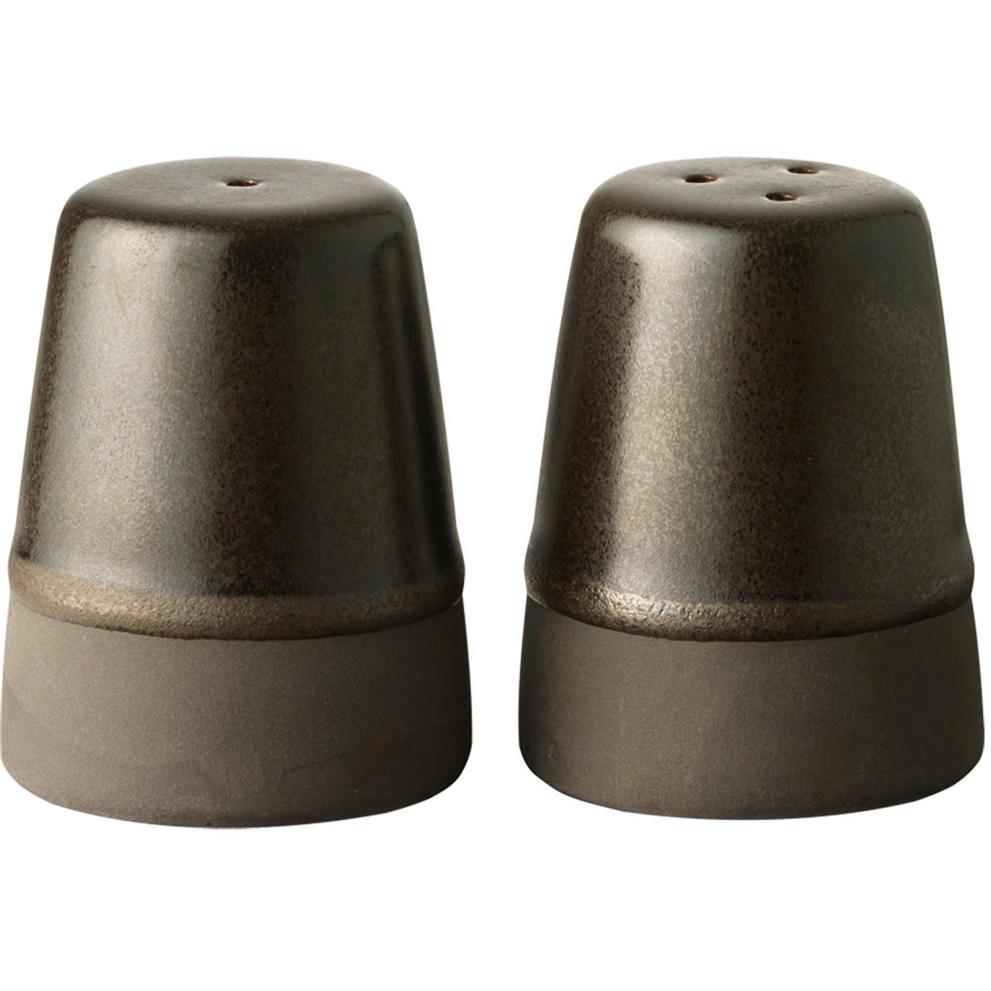 Aida Salt/pepparset metallisk brun