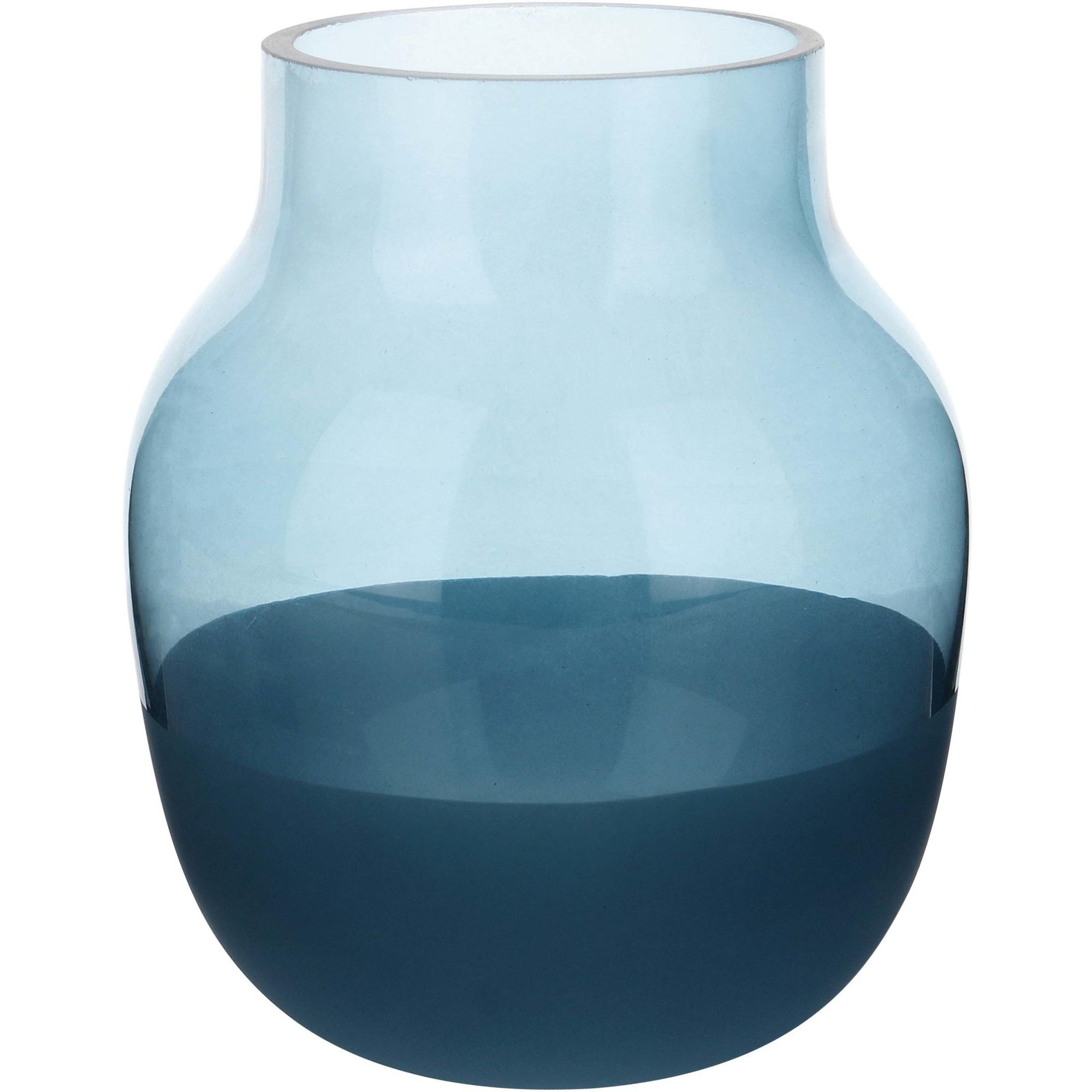 Aida Vas 13 cm Blå