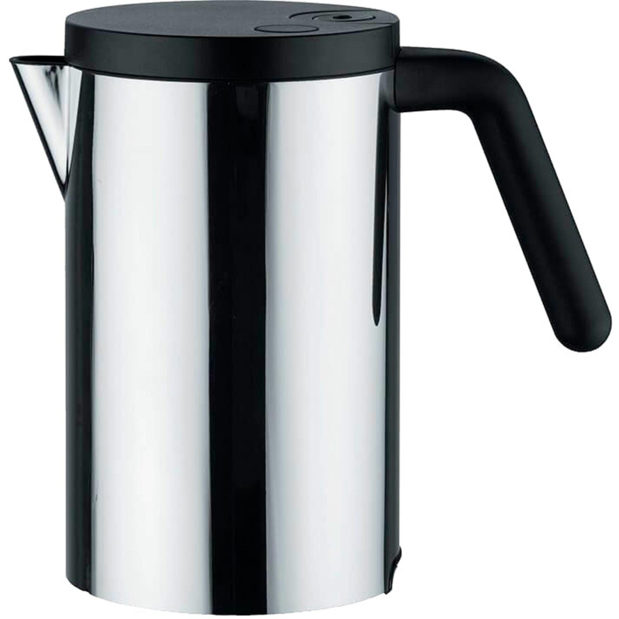 Alessi Hot-it Vattenkokare 08 liter Svart
