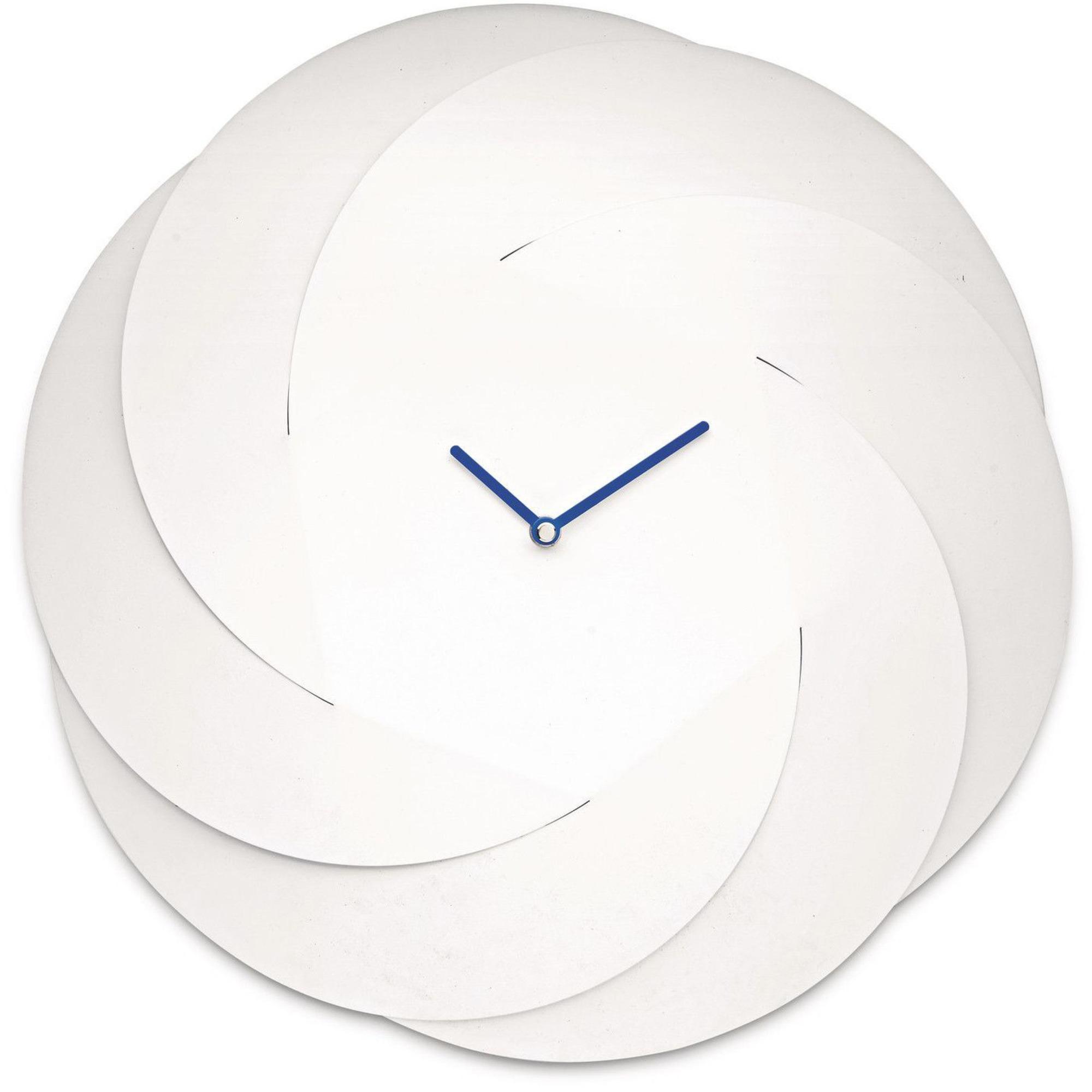 Alessi Infinity Clock Väggklocka Vit