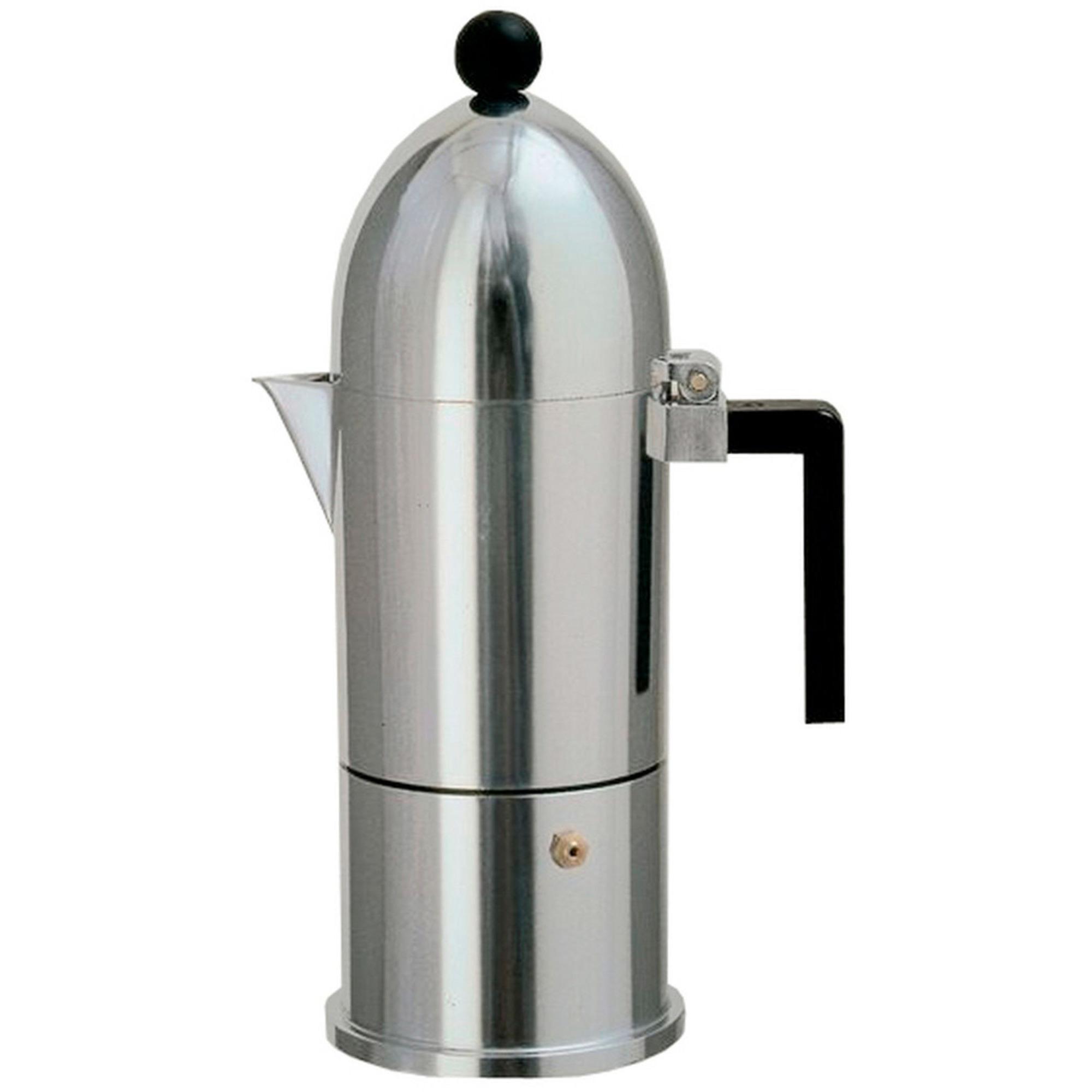 Alessi La Cupola Espressobryggare 3 Koppar