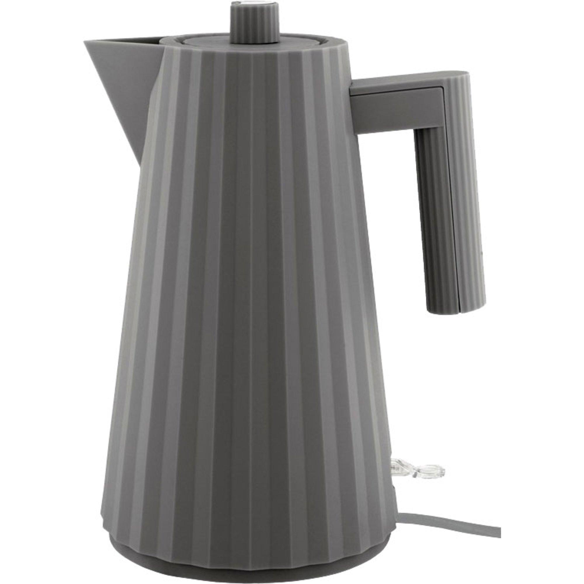 Alessi MDL06 Plissé vattenkokare 17 liter grå