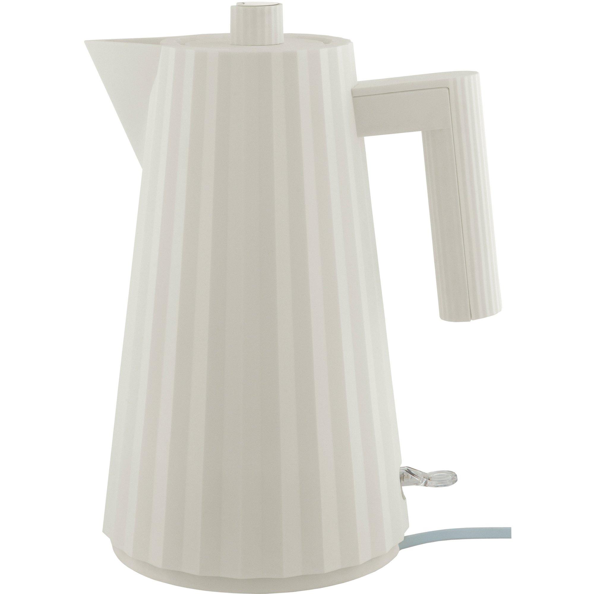 Alessi MDL06 Plissé vattenkokare 17 liter vit