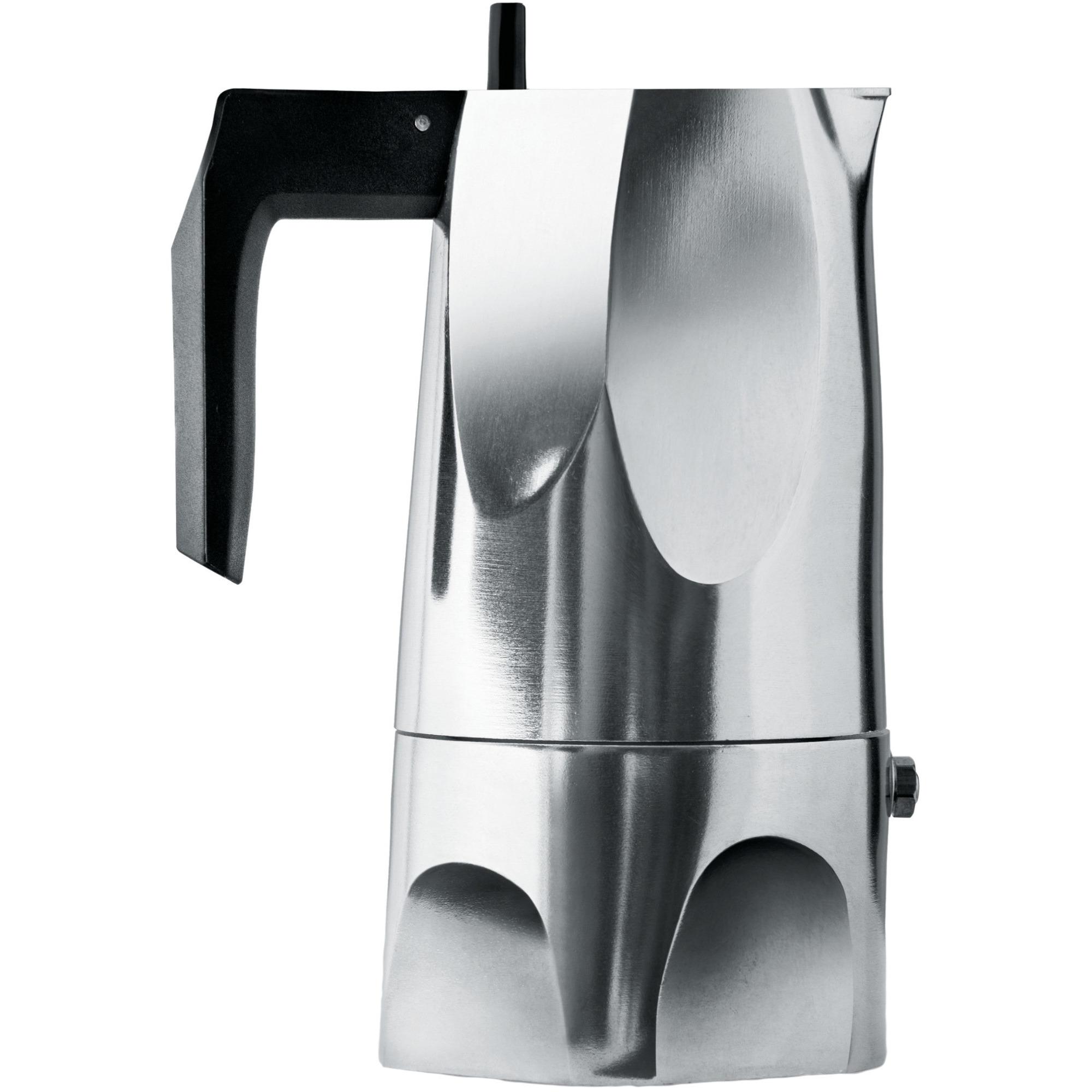 Alessi Ossidiana Espressobryggare 3 koppar Rostfritt Stål