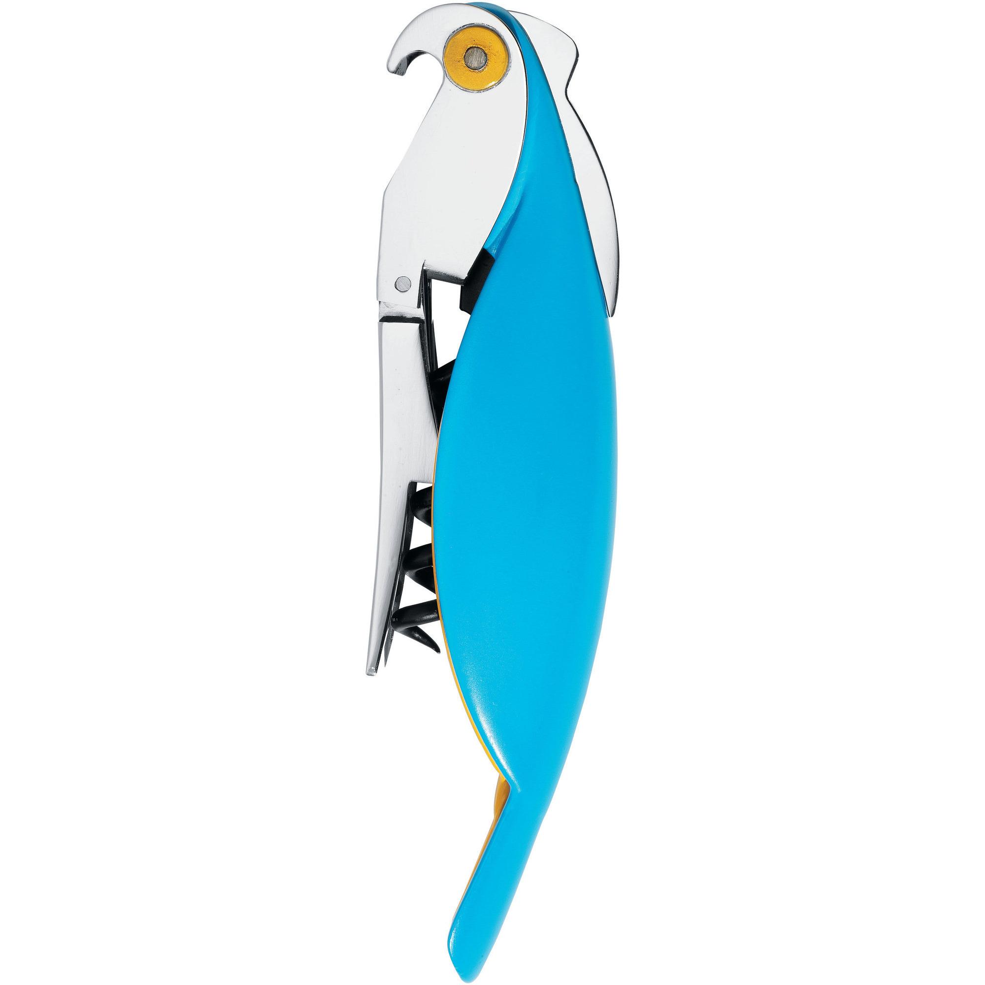 Alessi Parrot Korkskruv Blå