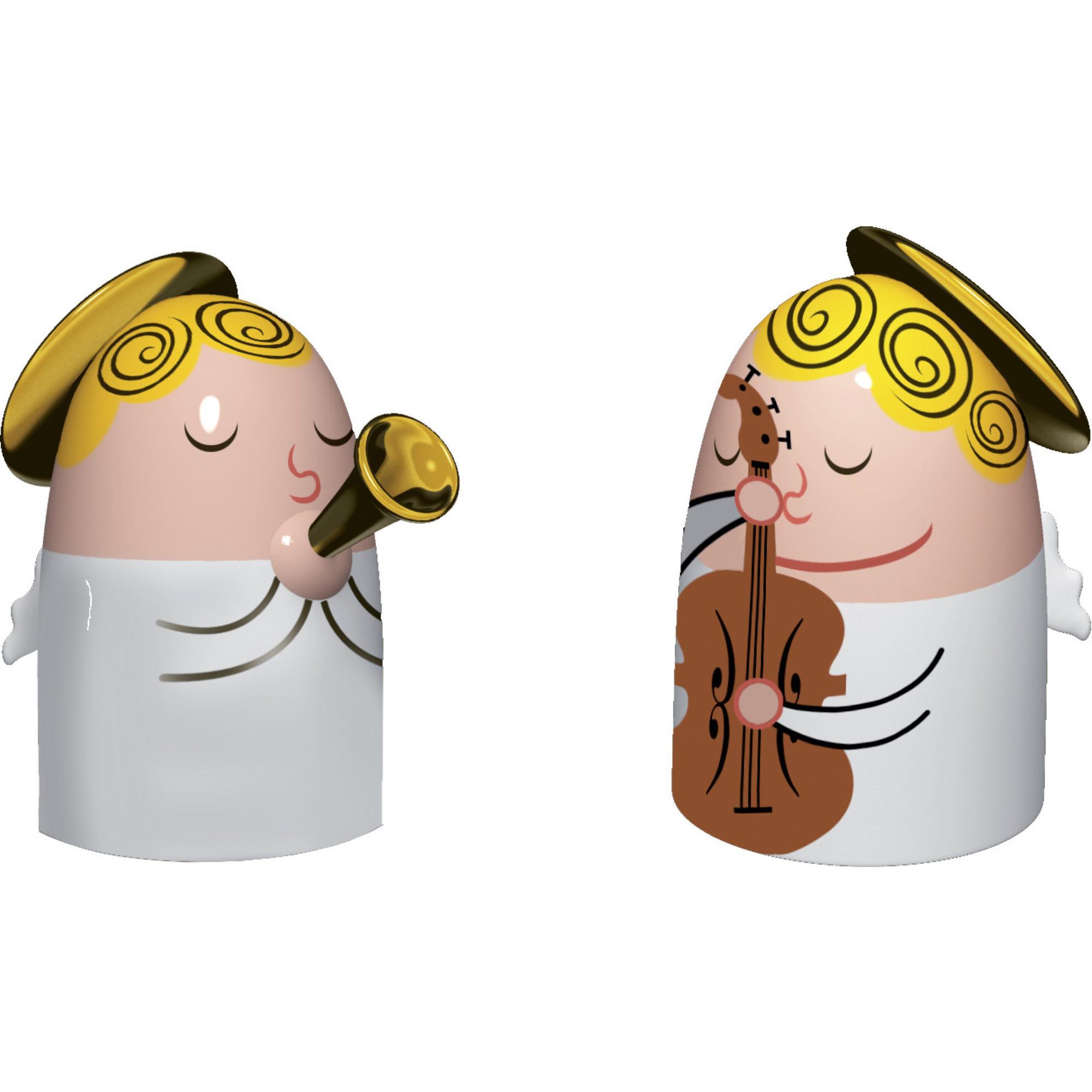 Alessi Porslinsfigurer Änglar 2 st