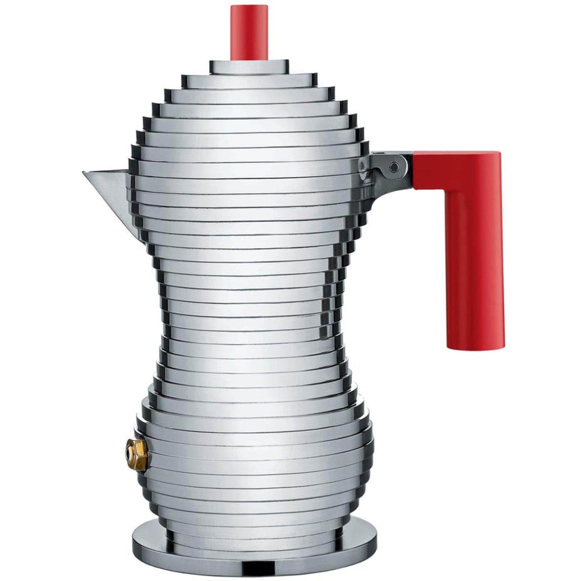 Alessi Pulcina Espressokanna 3 Koppar