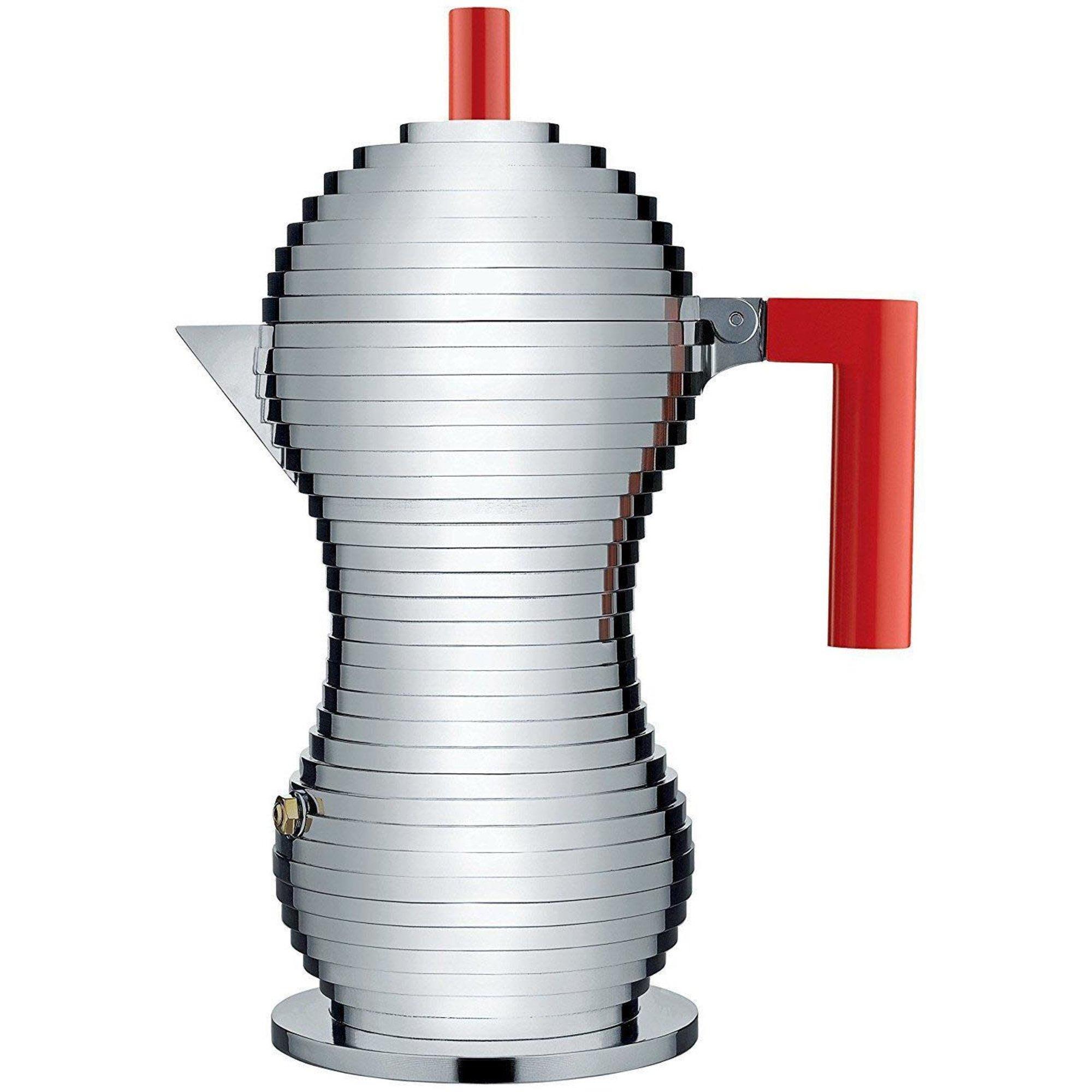 Alessi Pulcina Espressokanna 6 Koppar