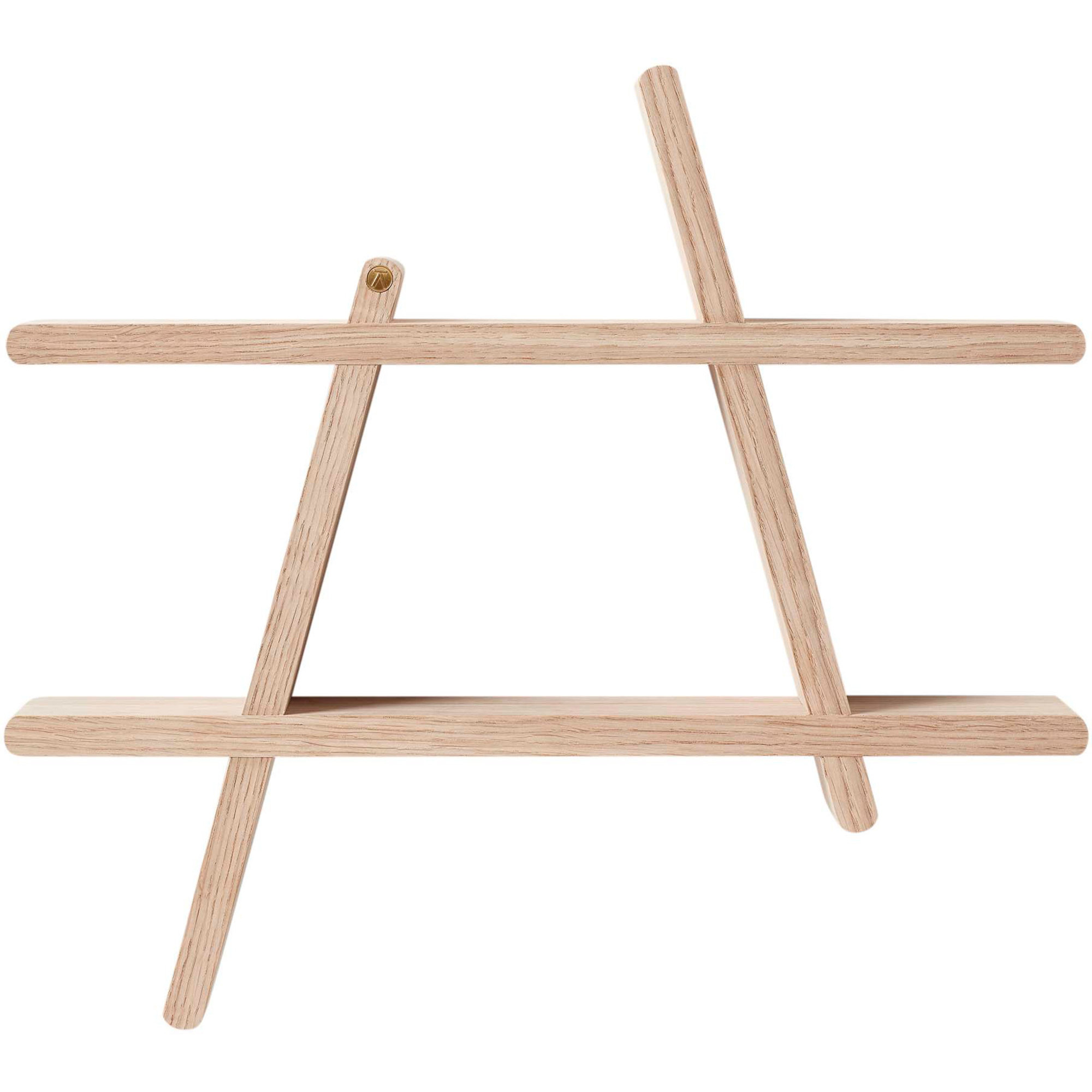 Bilde av Andersen Furniture A-shelf 52 X 9 X 46 Cm Medium Oak