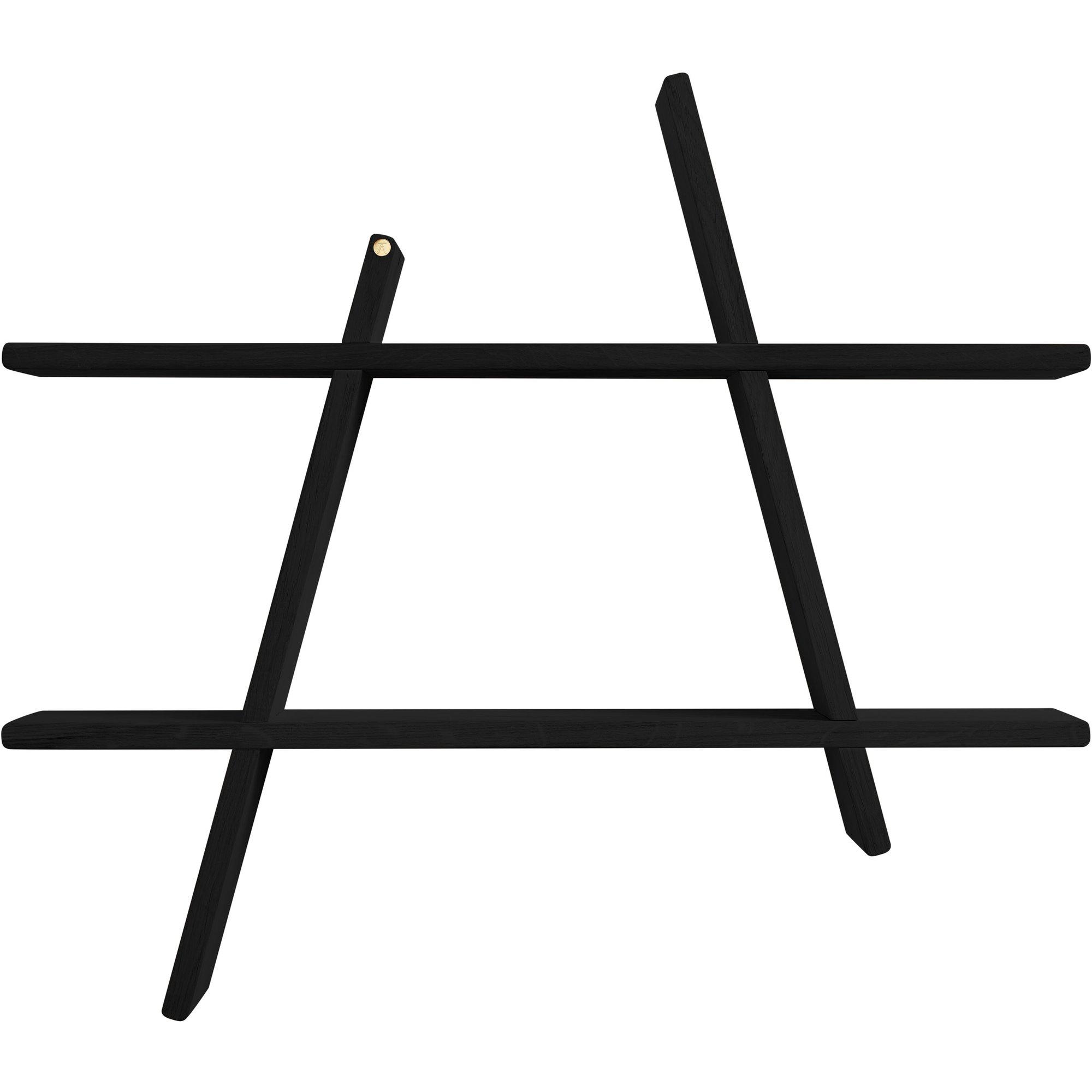 Bilde av Andersen Furniture A-shelf Hylle Svart, Large