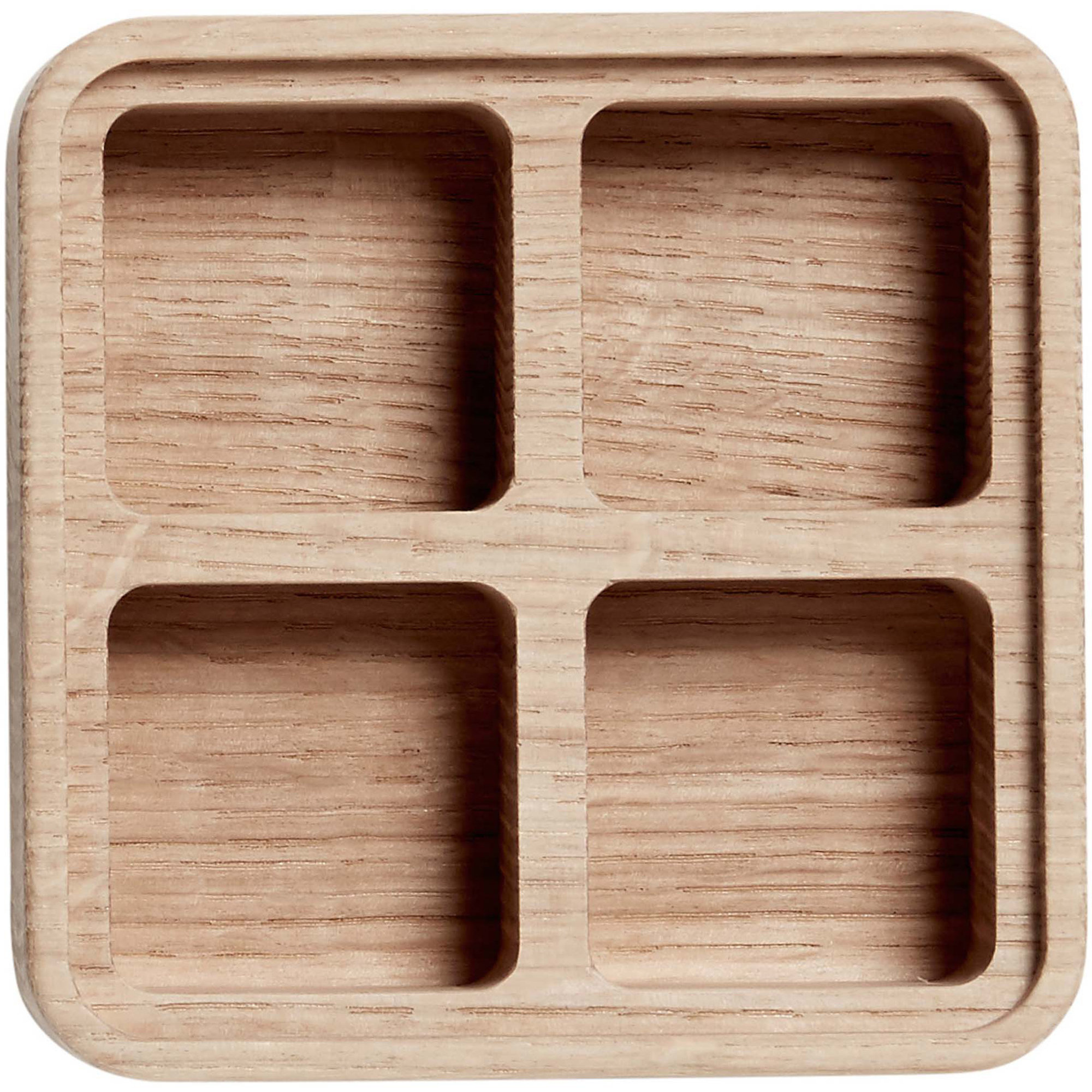 Bilde av Andersen Furniture Create Me Box Med 4 Lommer 12 X 12 Cm Oak