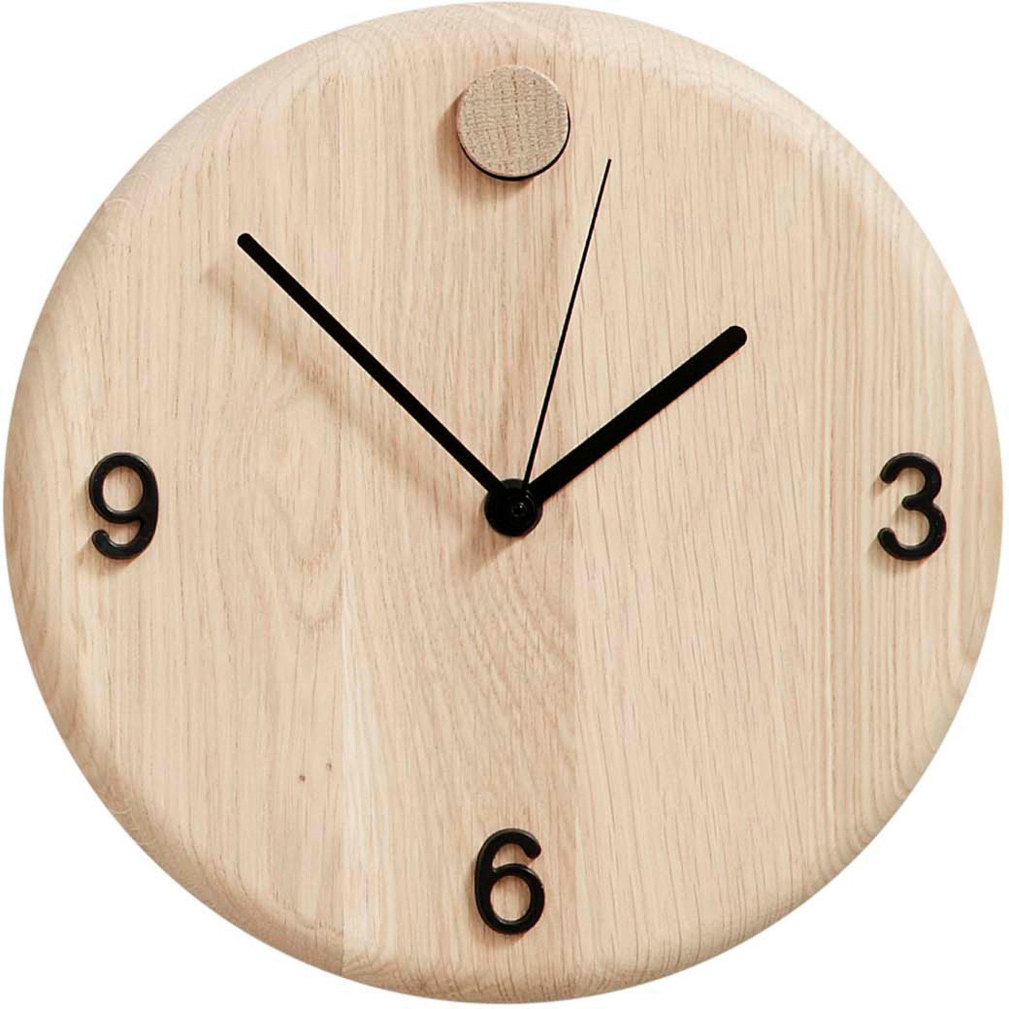 Andersen Furniture Wood Time Klocka 22 cm Oak