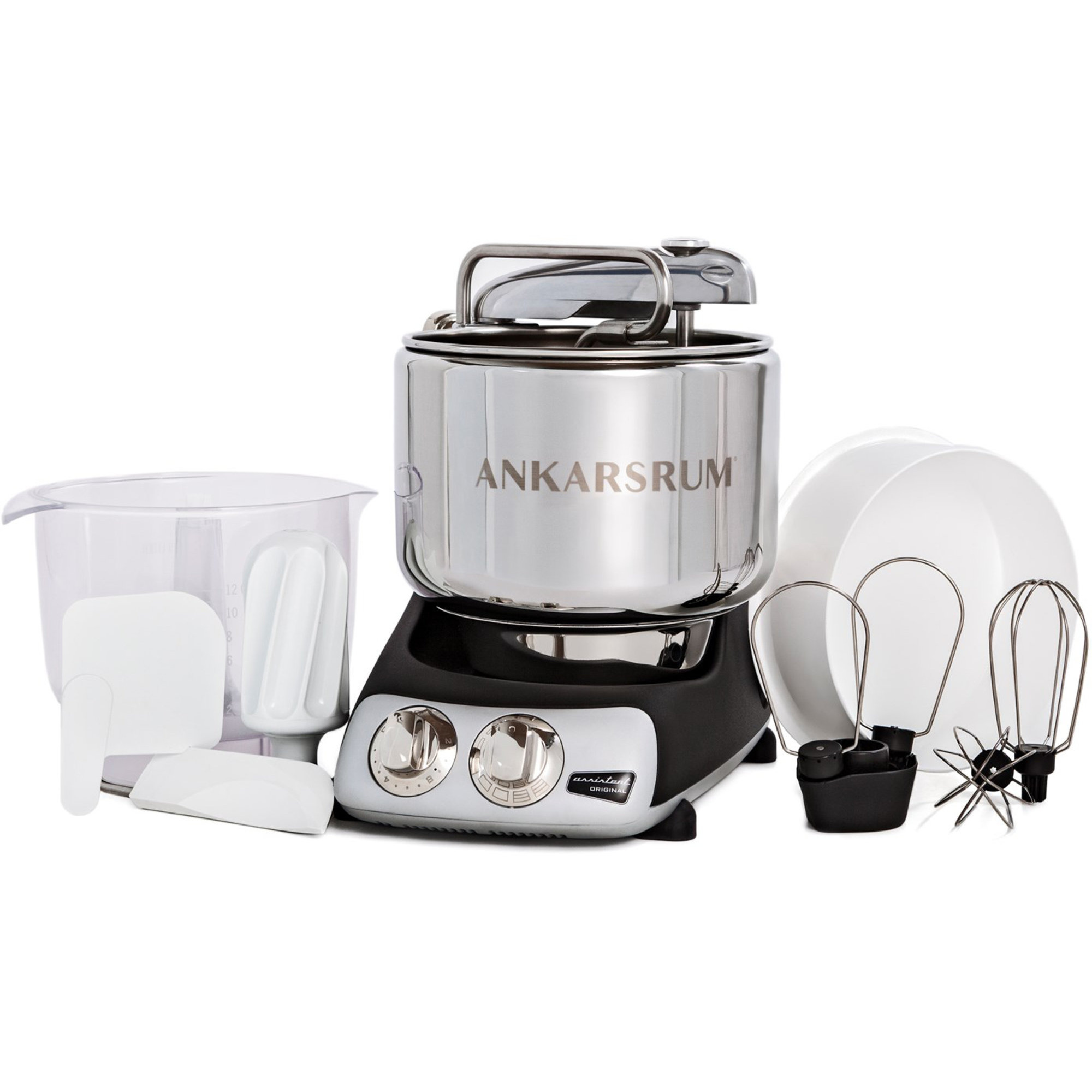 AKM 6220 røremaskine fra Ankarsrum » Kompakt og effektiv køkkenmaskine