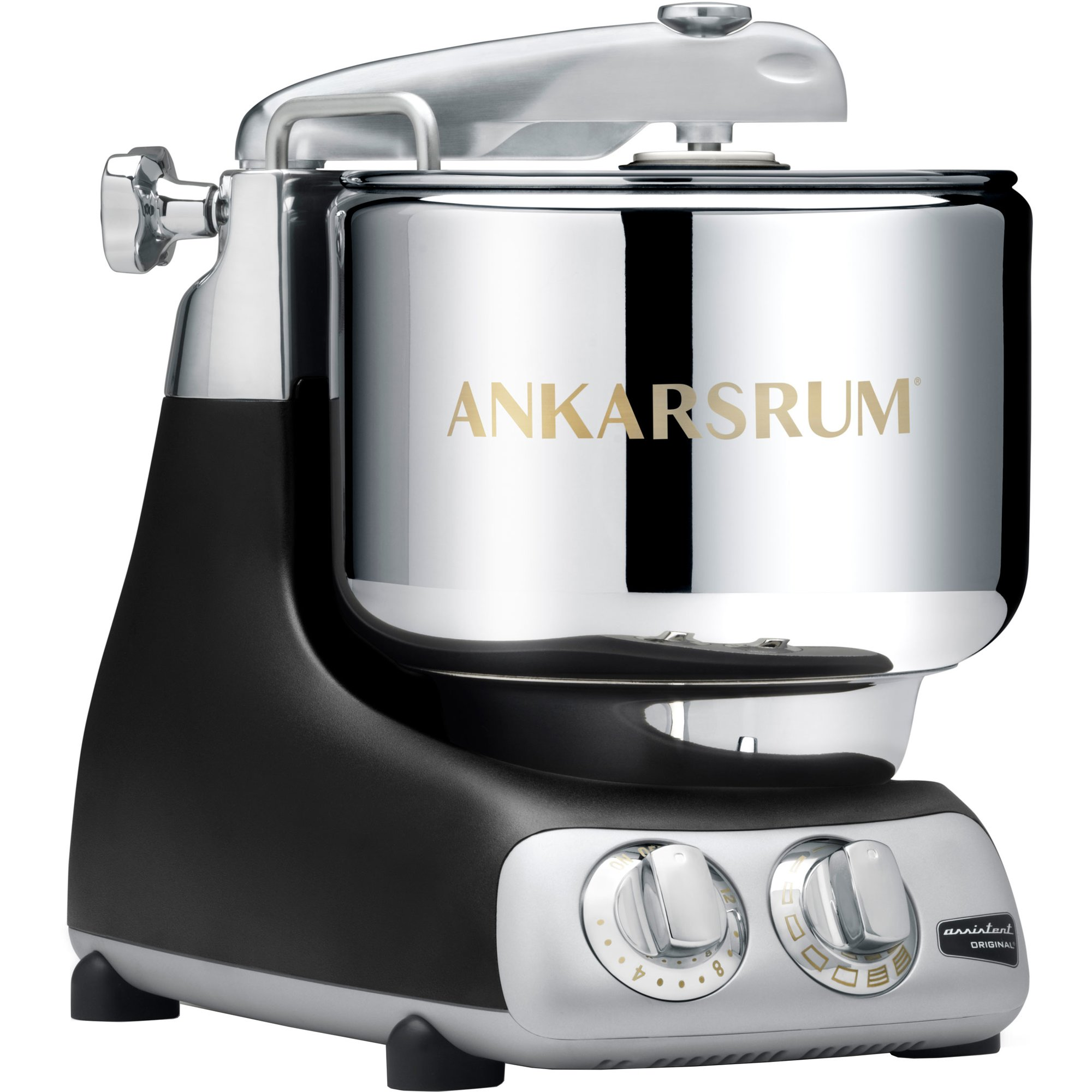 Ankarsrum Assistent Original AKM6230B Mattsvartmed Köttkvarnspaket