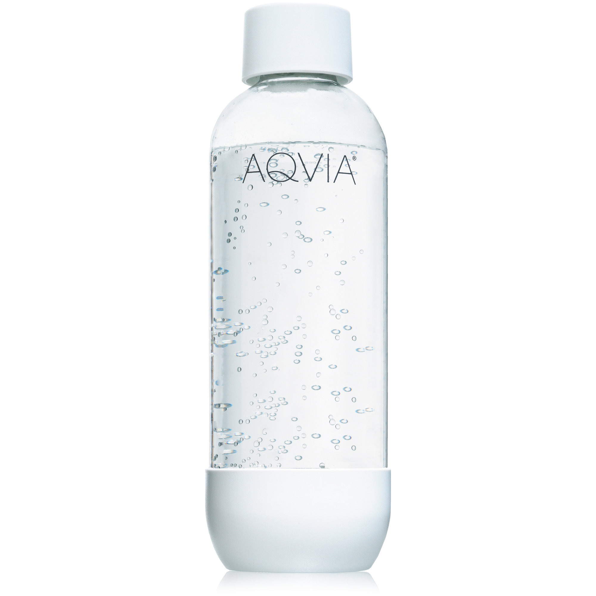 Aqvia Vattenflaska 1 000 ml. Vit