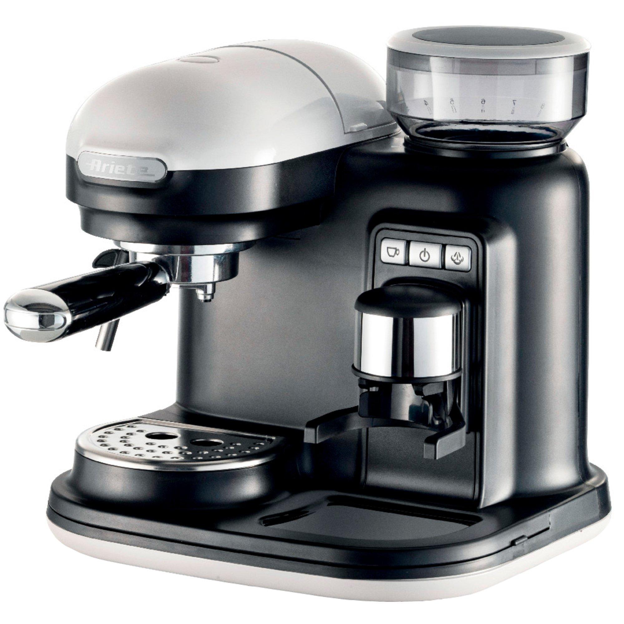 Ariete Moderna Espressomaskin med kaffekvarn vit