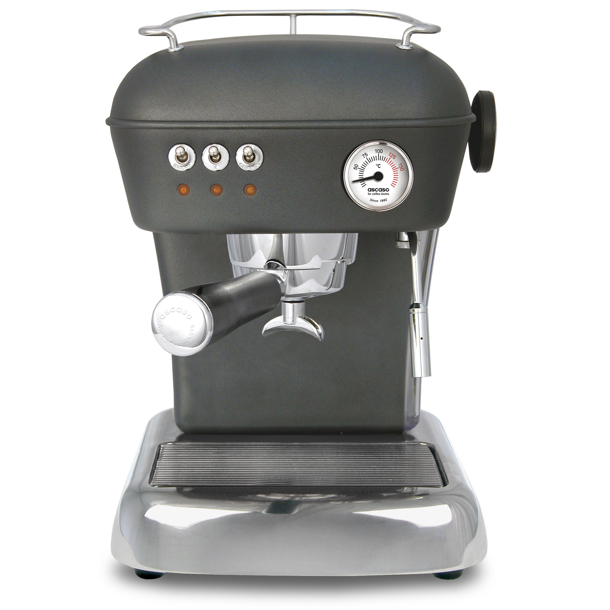 Ascaso DREAM Espressomaskin Anthracite
