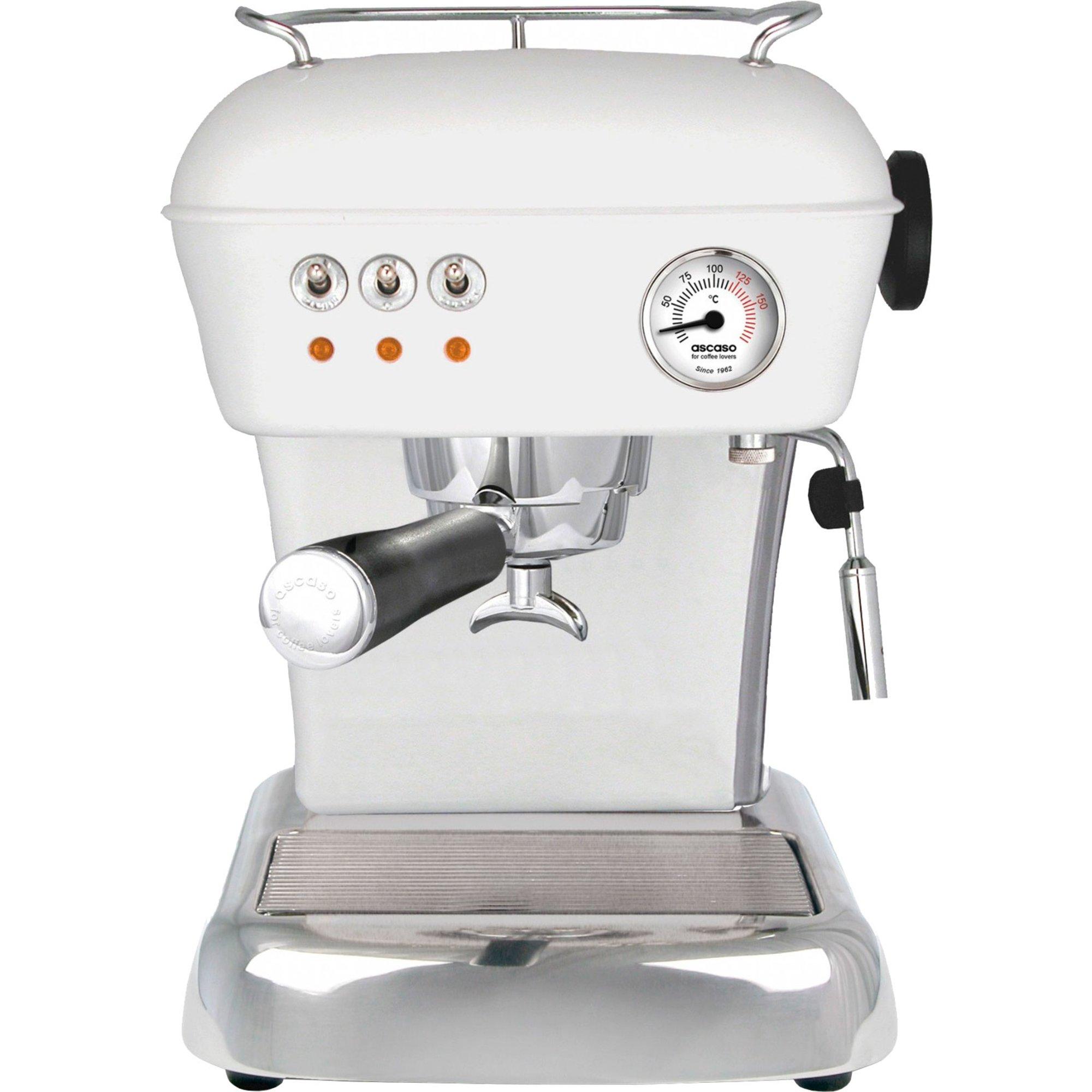 Ascaso DREAM Espressomaskin Vit