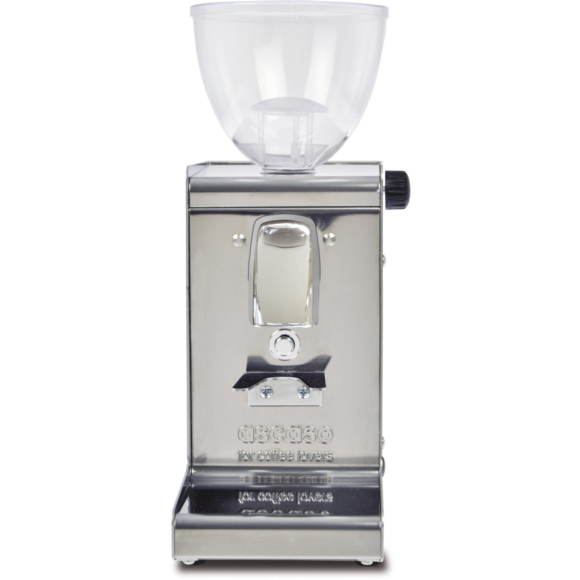 Ascaso i-Steel Kaffekvarn Borstat rostfritt stål