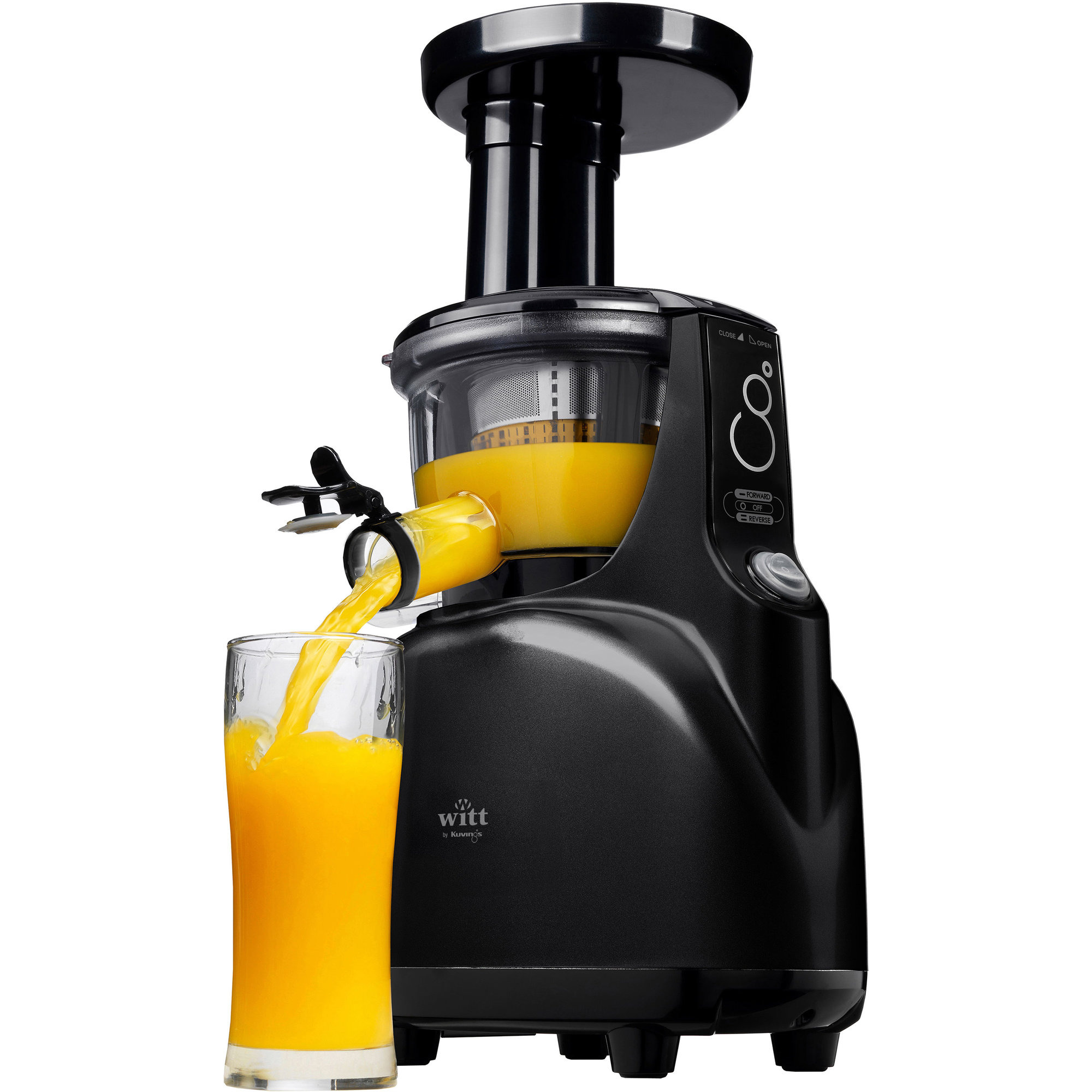 Slow Juicer Go Morgen Danmark : B5100 Silent Slow Juicer fra Witt by Kuvings Gratis Levering
