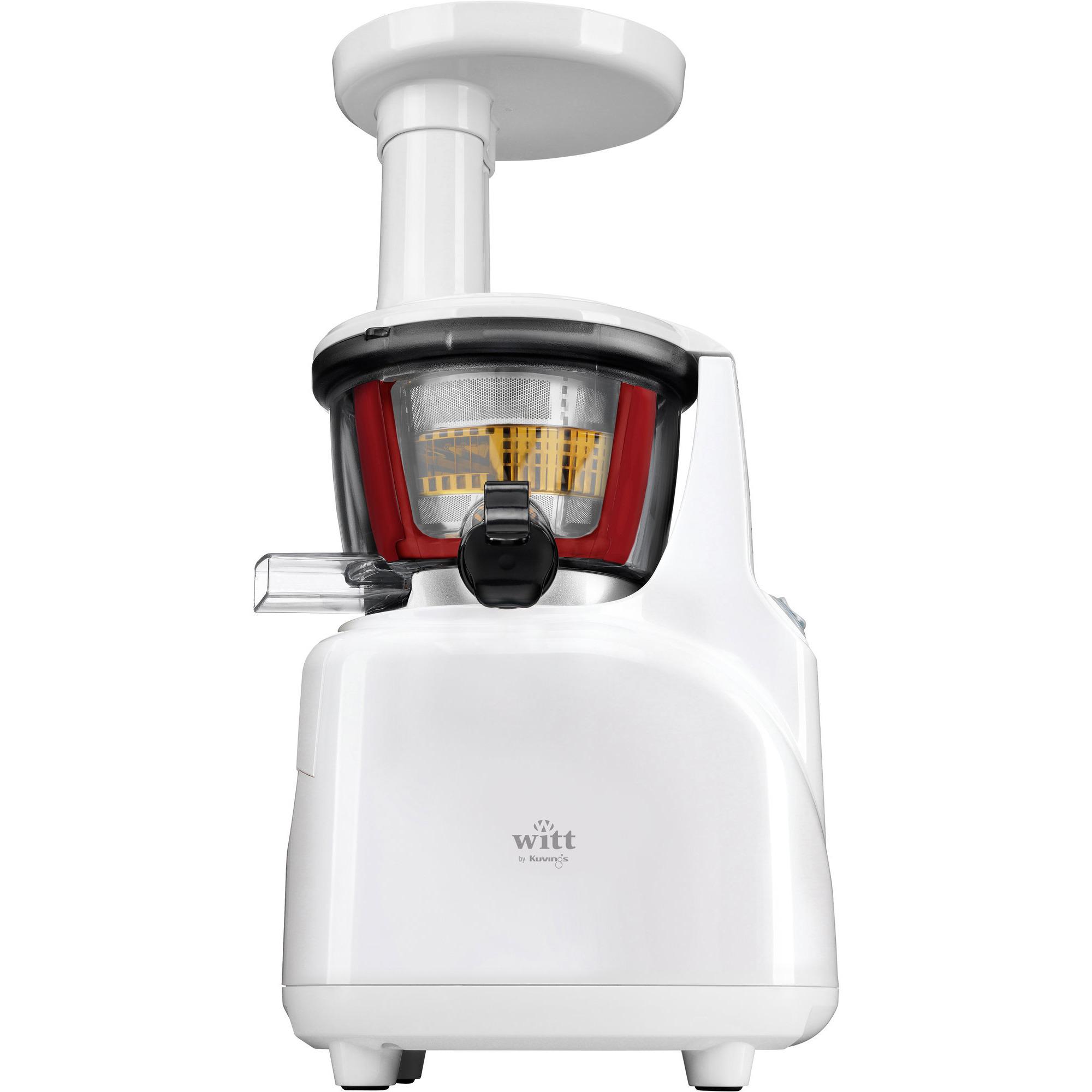 Slowjuicer Witt By Kuvings Tilbud : Kjop B5100W Silent Slow Juicer hvit fra Witt by Kuvings
