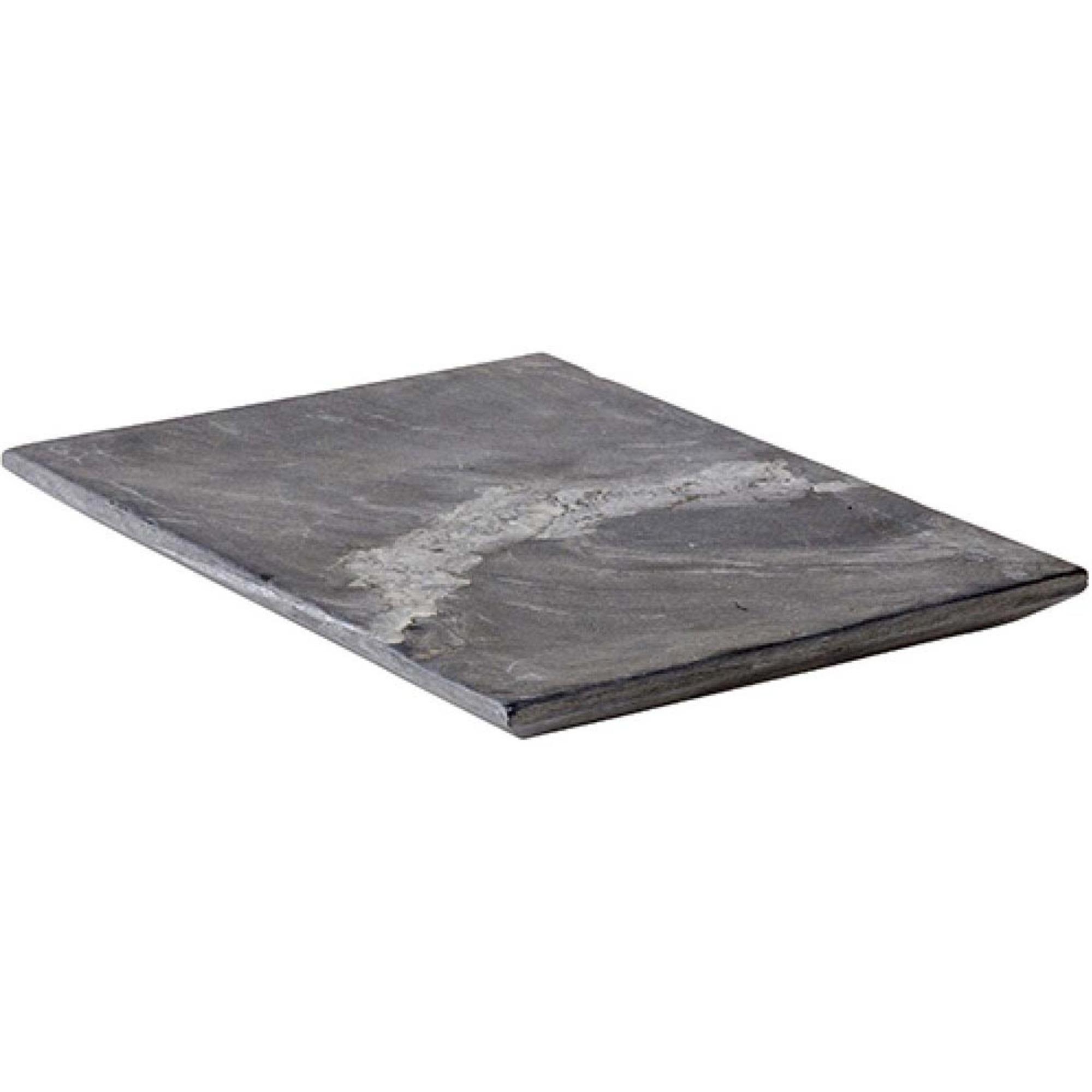 Bilde av Bahne & Co Serveringsplate Marmor Grå 28 X 22 Cm