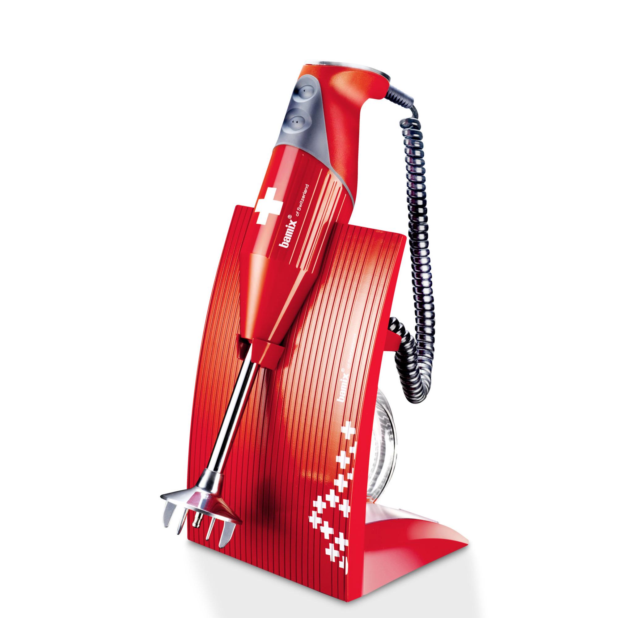 Bamix Stavmixer Swissline 200W – Röd